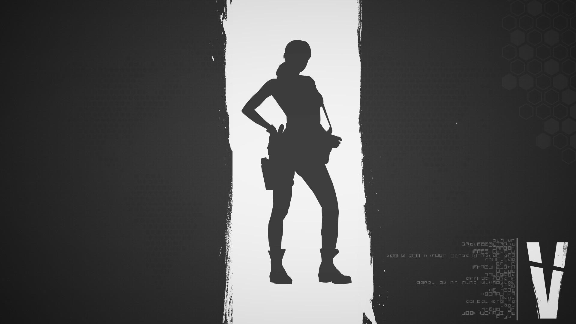 Res: 1920x1080, Metal Gear Solid 5 Quiet Wallpaper Gray