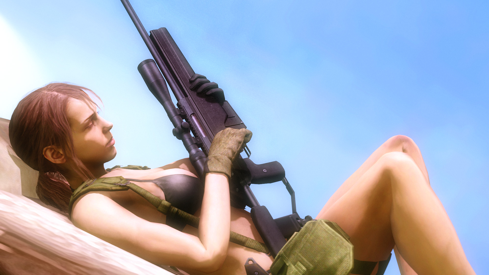 Res: 1920x1080, ... AngryRabbitGmoD Quiet (Metal Gear Solid 5: The Phantom Pain) by  AngryRabbitGmoD
