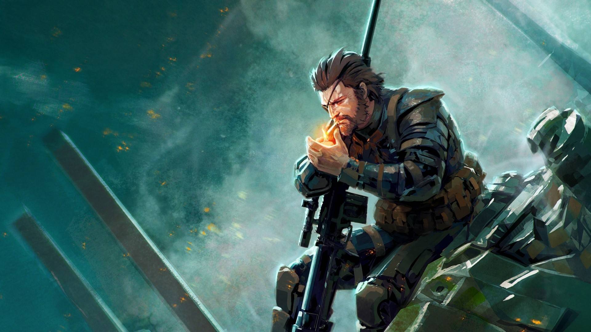 Res: 1920x1080, Metal Gear Solid V: The Phantom Pain Wallpapers HD / Desktop and Mobile  Backgrounds