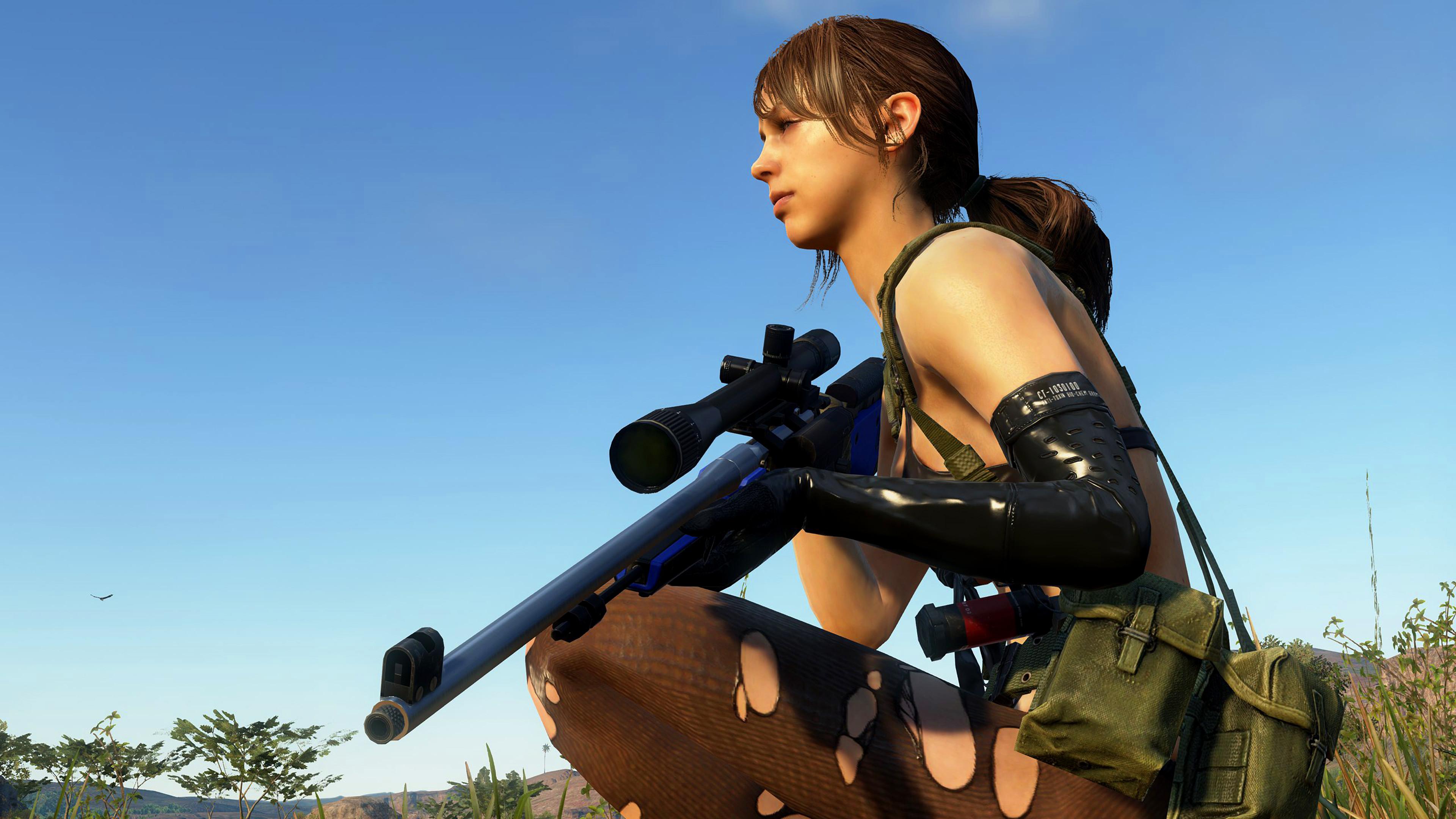 Res: 3840x2160, General  Metal Gear Solid V: The Phantom Pain Quiet screen shot