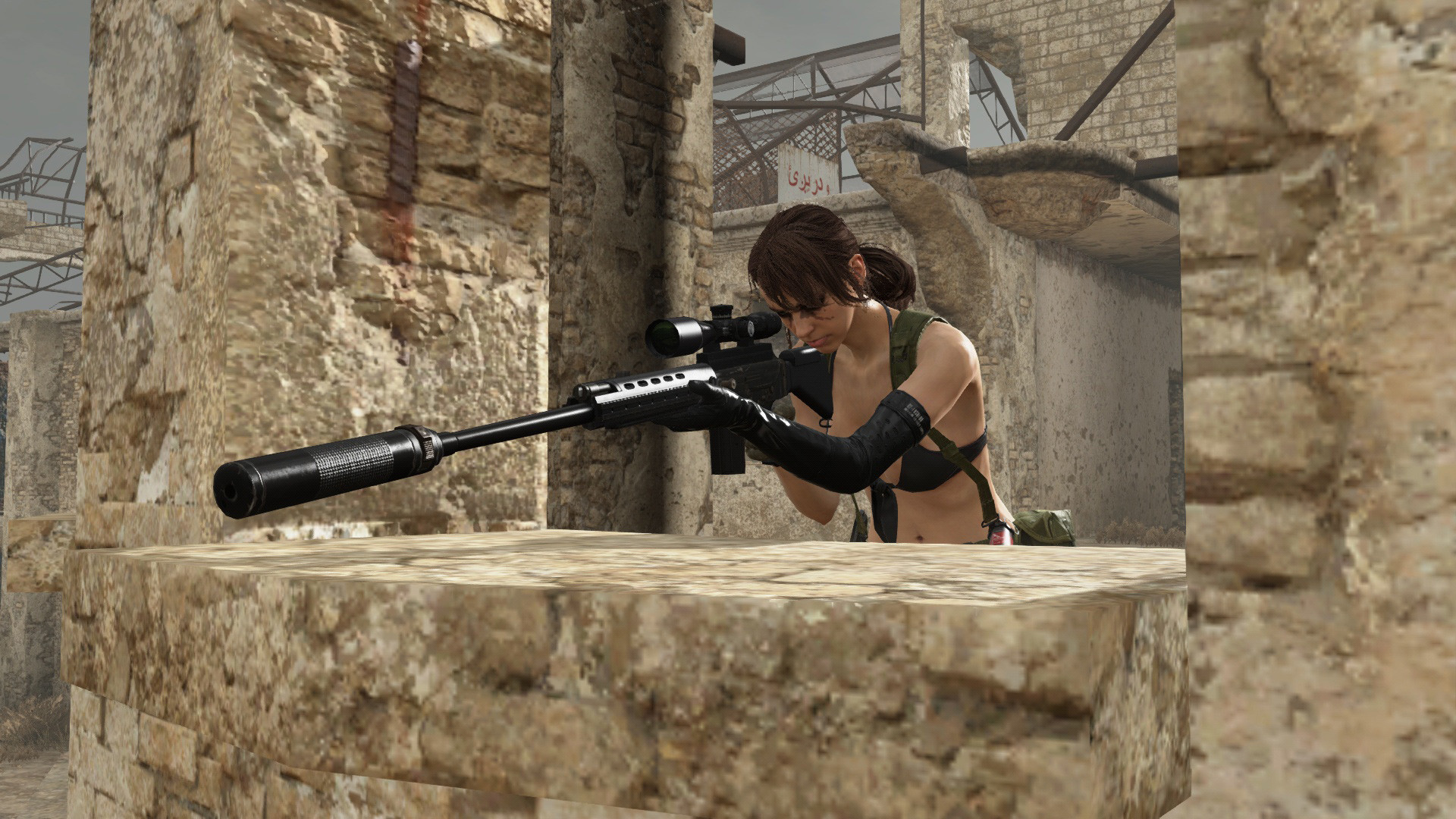 Res: 1920x1080, Metal Gear Online – Cloaked in Silence DLC - Quiet