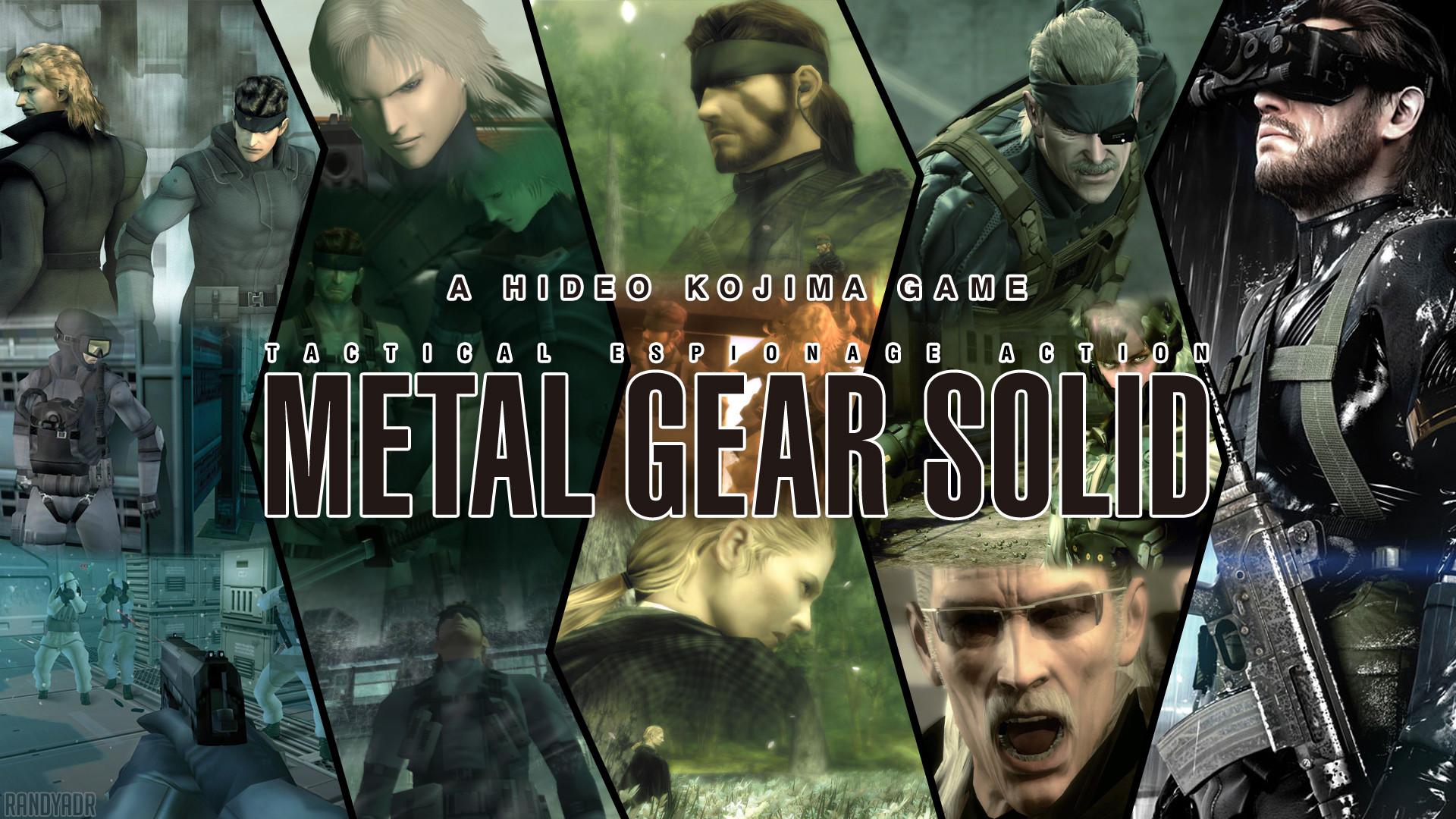 Res: 1920x1080, Metal Gear Solid Wallpaper Attempt by randyadr on deviantART