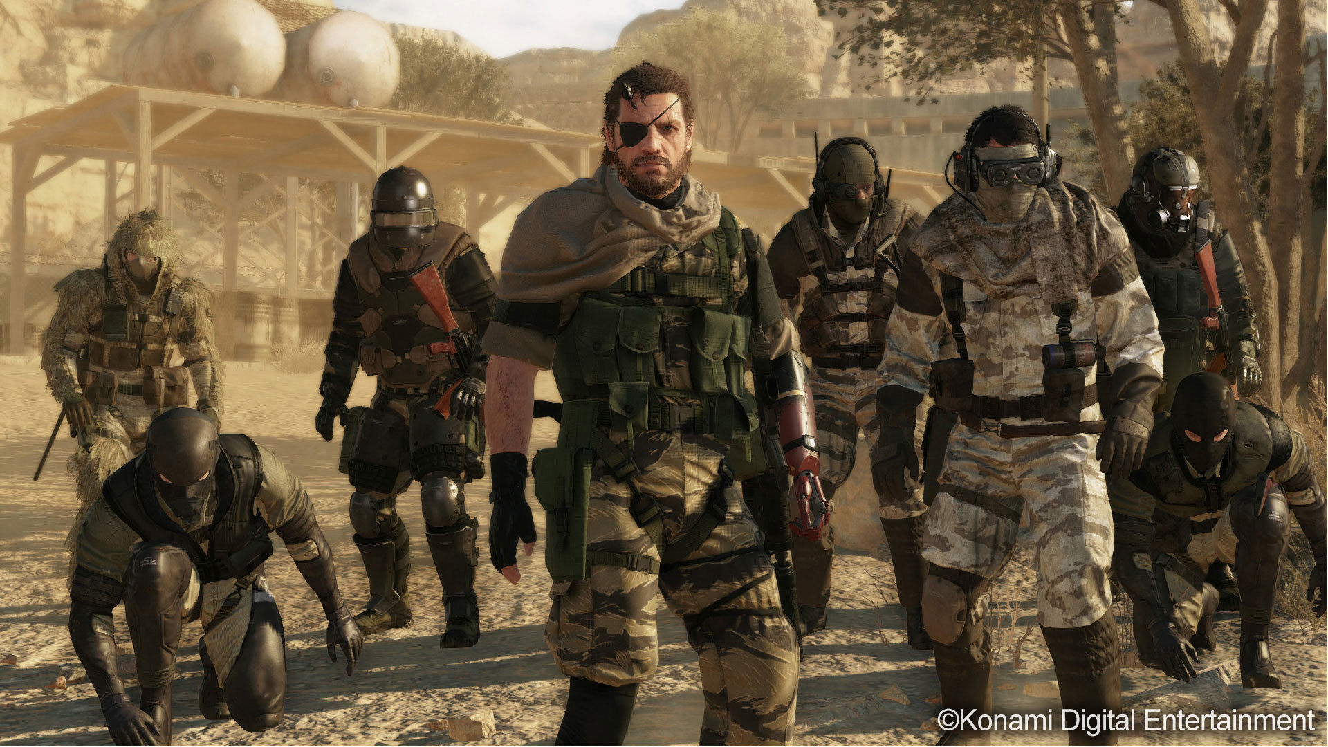 Res: 1920x1080, Metal Gear Online: Artwork, screenshots and some information