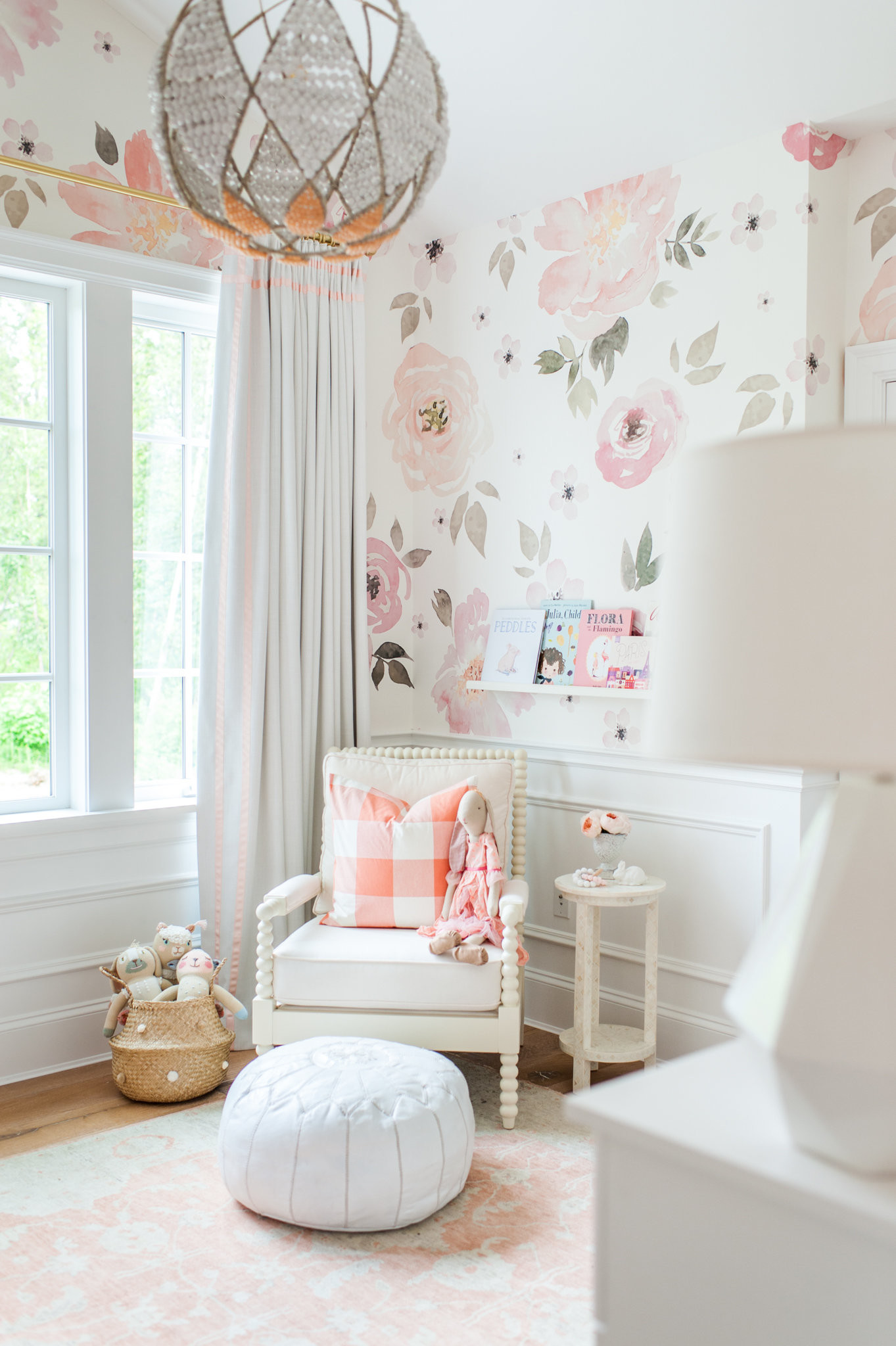 Res: 1363x2048, In The Nursery With Monika Hibbs Project Nursery. View Larger. Baby Room Wallpaper WallpaperSafari