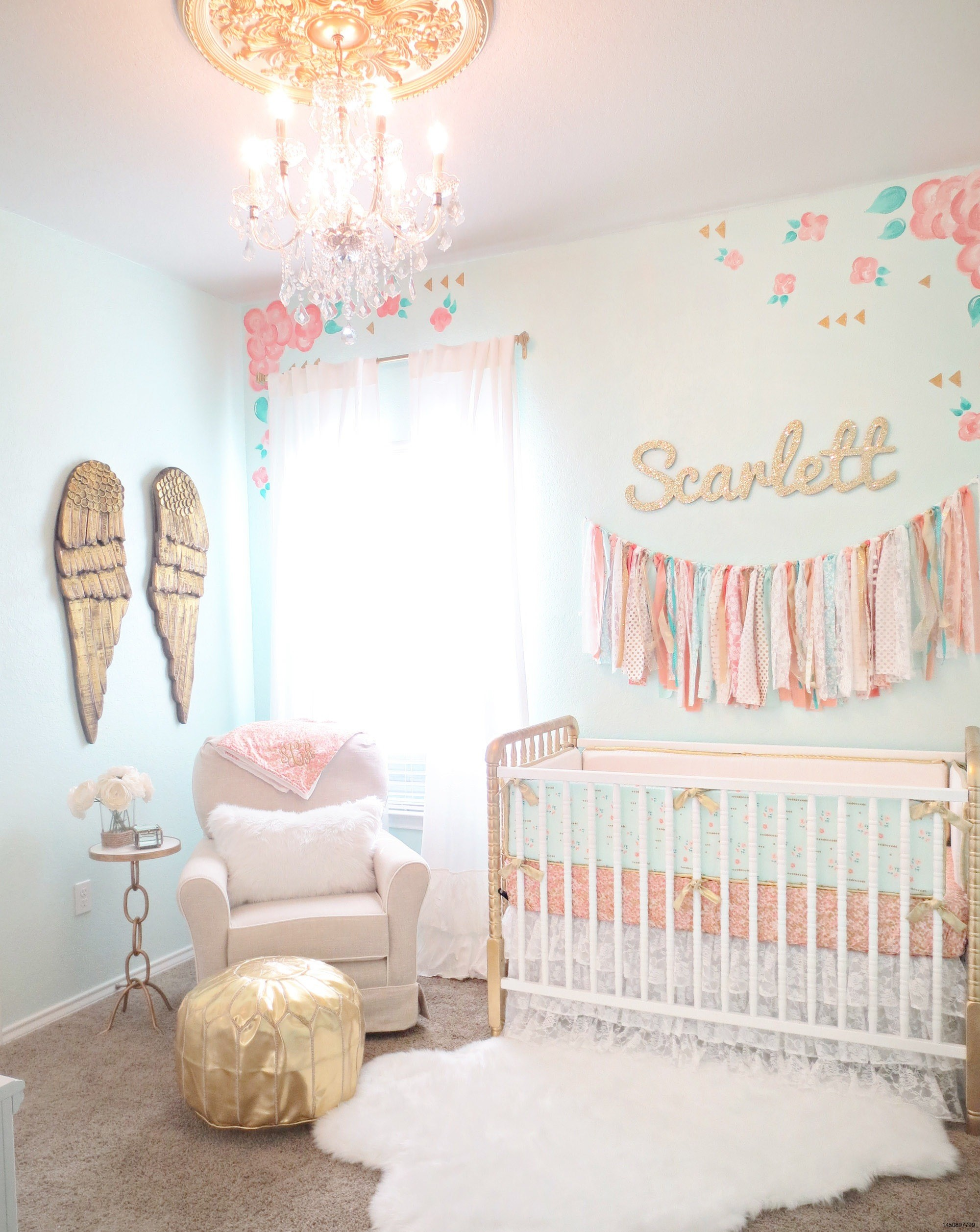 Res: 2000x2514, Magnificent Vintage Baby Wall Design Ideas Introduce Admirable Flowers Girl Vintage Wallpaper With Stunning