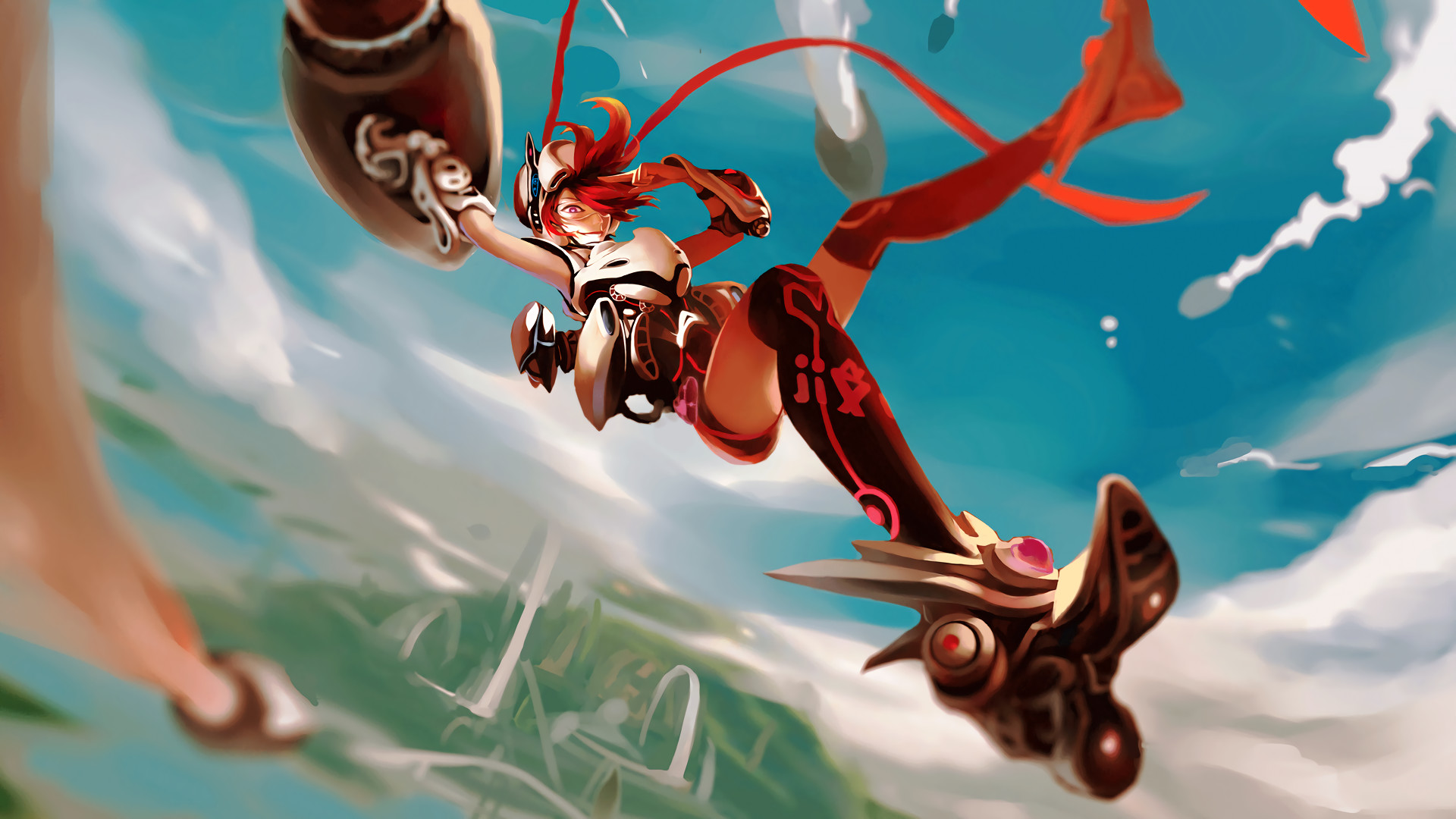 Res: 1920x1080, Jinx Skin Concept League Of Legends Wallpaper League Of Legends Wallpapers    Art-of-LoL