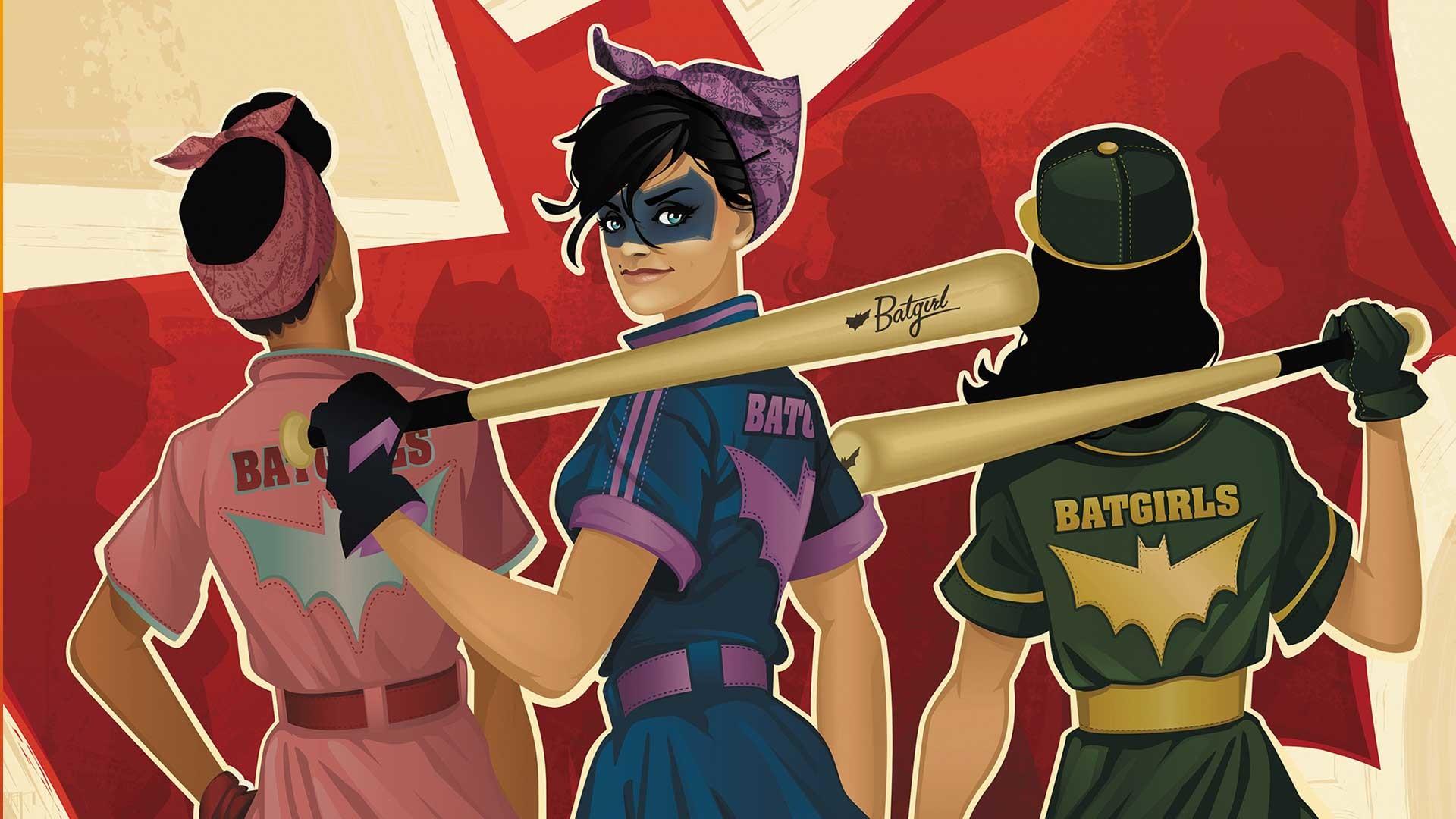 Res: 1920x1080, Comics - Bombshells Batgirl DC Bombshells Wallpaper