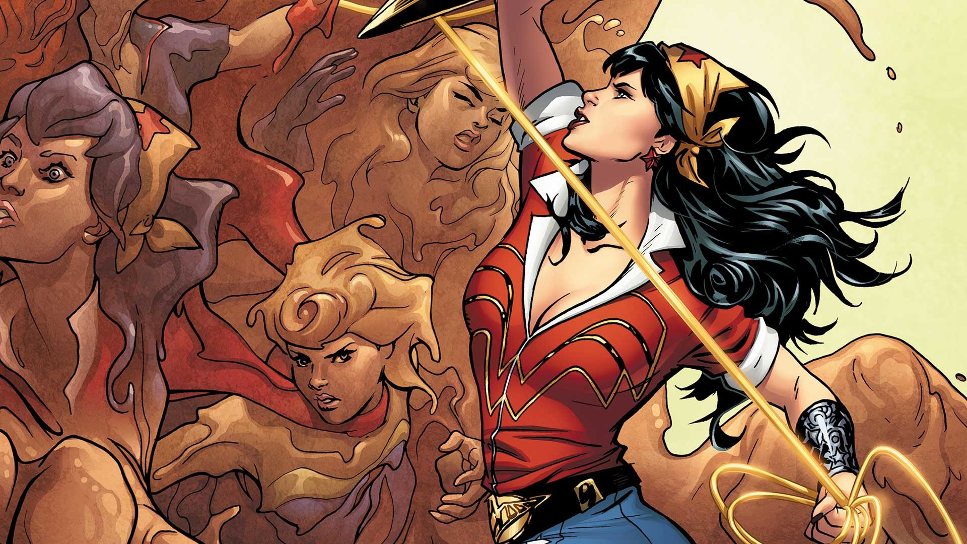 Res: 1920x1080, BOMBSHELLS UNITED #5 cover by Emanuela Lupacchino