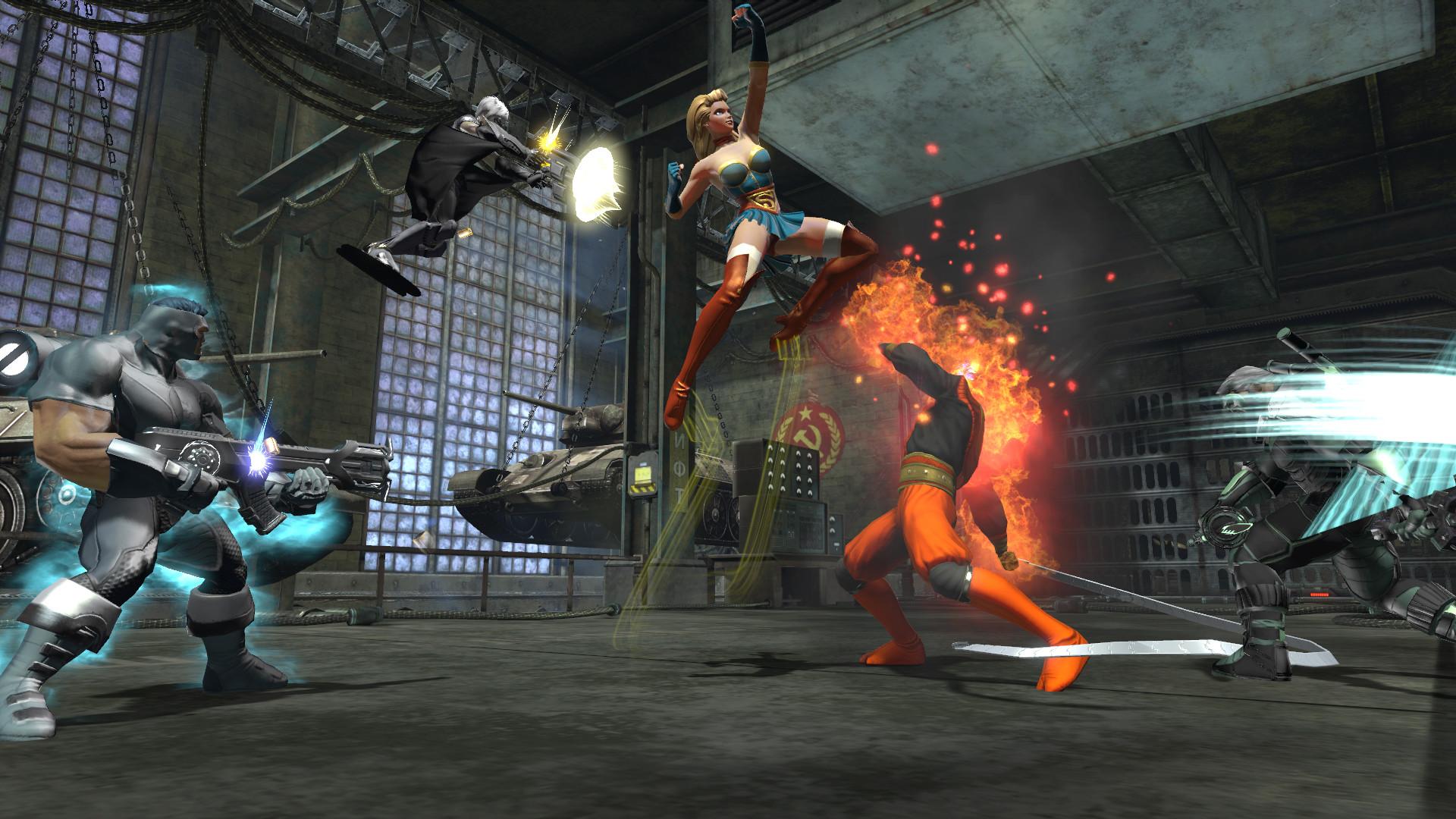 Res: 1920x1080, Bombshells Drop In DC Universe Online