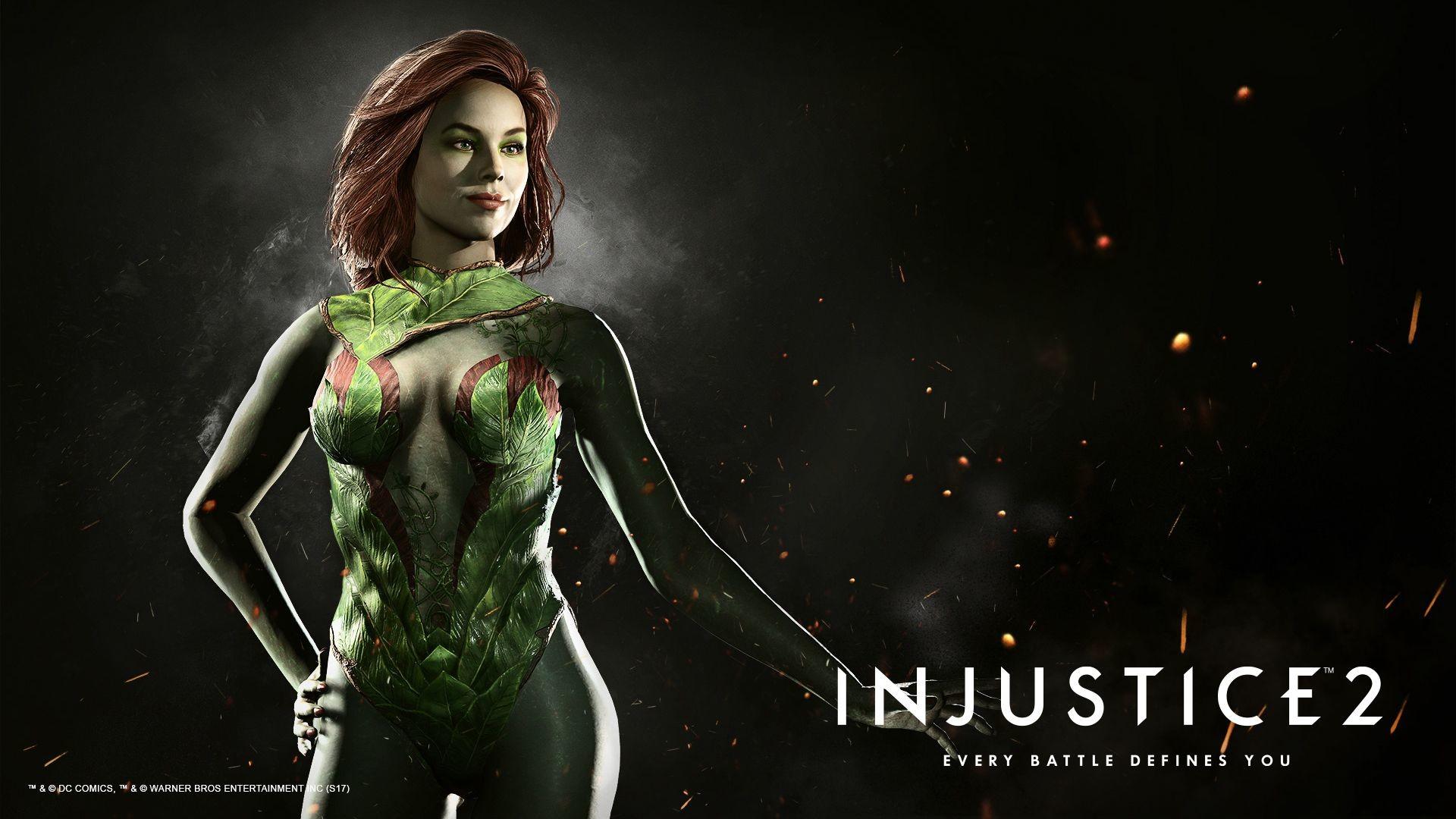 Res: 1920x1080, Poison Ivy Injustice 2 Wallpaper 0001.jpg