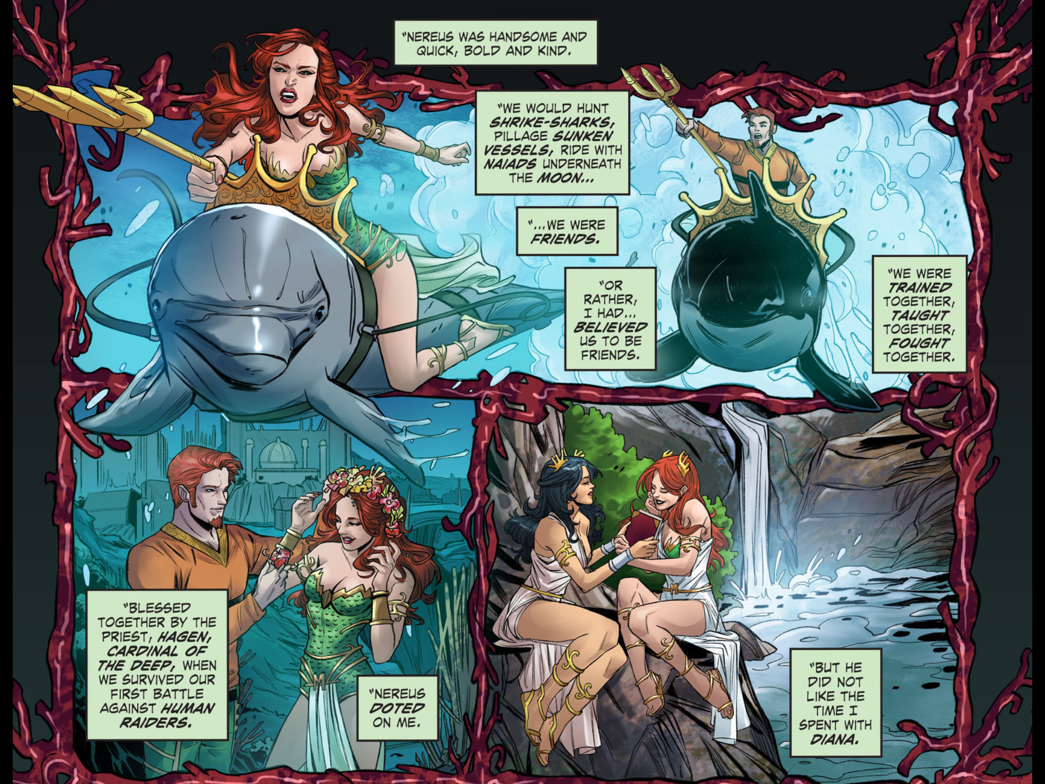 Res: 2048x1536, Weekly Wonder Woman: Wonder Woman: Rebirth #1