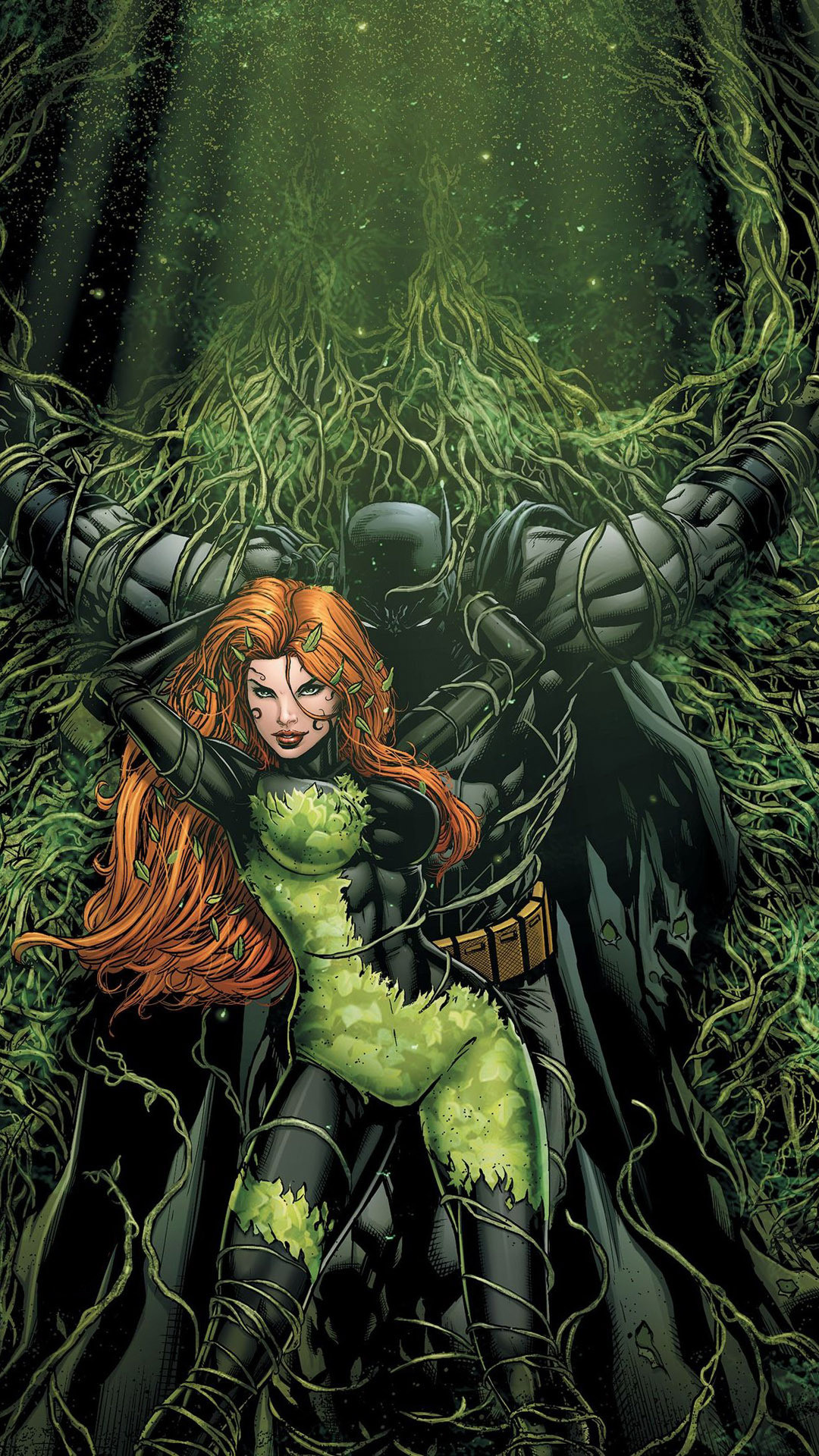 Res: 1080x1920, Batman and Poison Ivy Mobile Wallpaper 8970