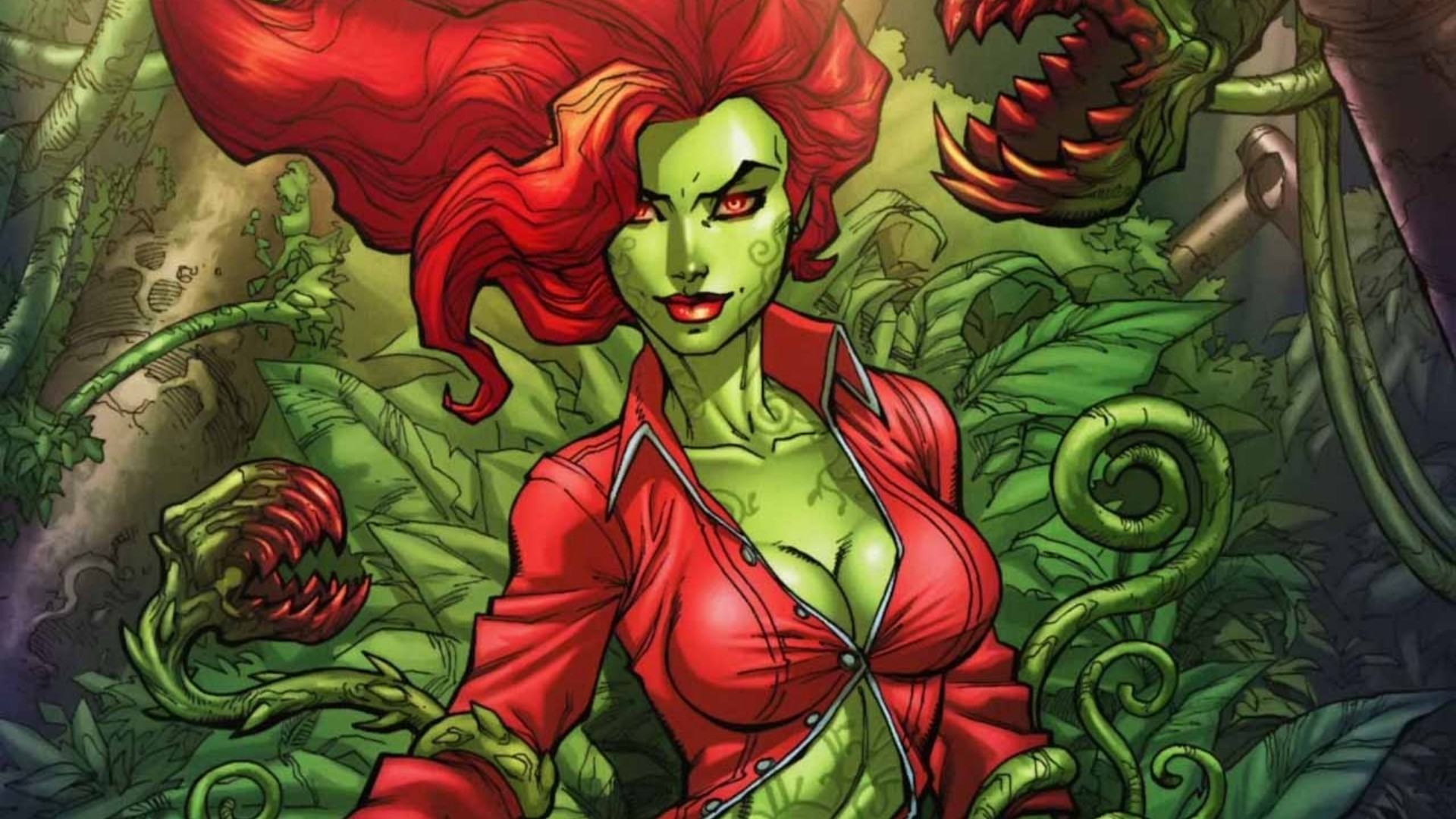 Res: 1920x1080, Poison Ivy Full HD Wallpaper