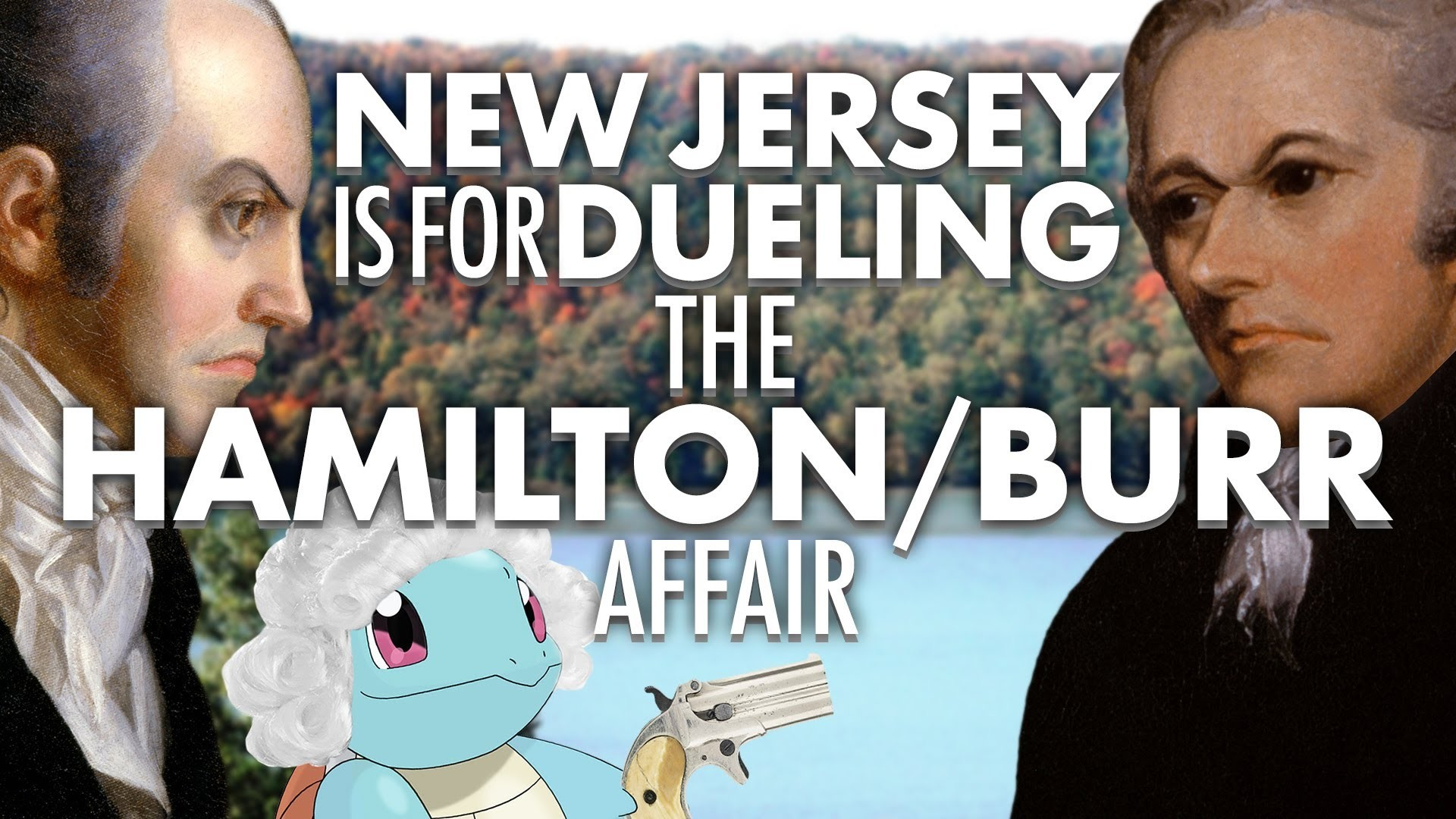 Res: 1920x1080, Alexander Hamilton VS Aaron Burr: New Jersey is for Dueling | Laughing  Historically - YouTube