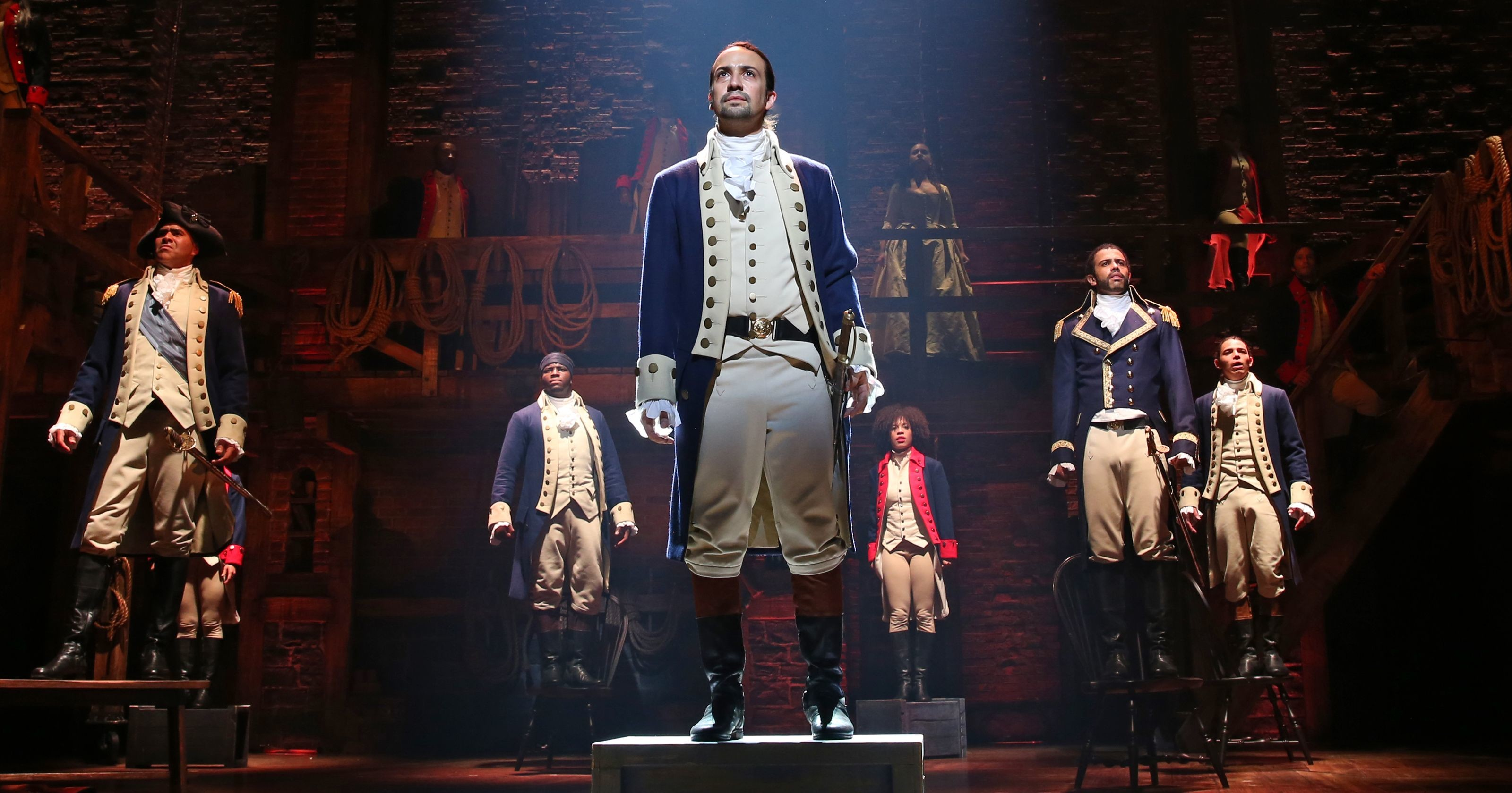 Res: 3200x1680, BREAKING IN: Don't Throw Away Your Shot!: 10 Things All Writers Can Learn  from the Genius Behind HAMILTON - Script Magazine