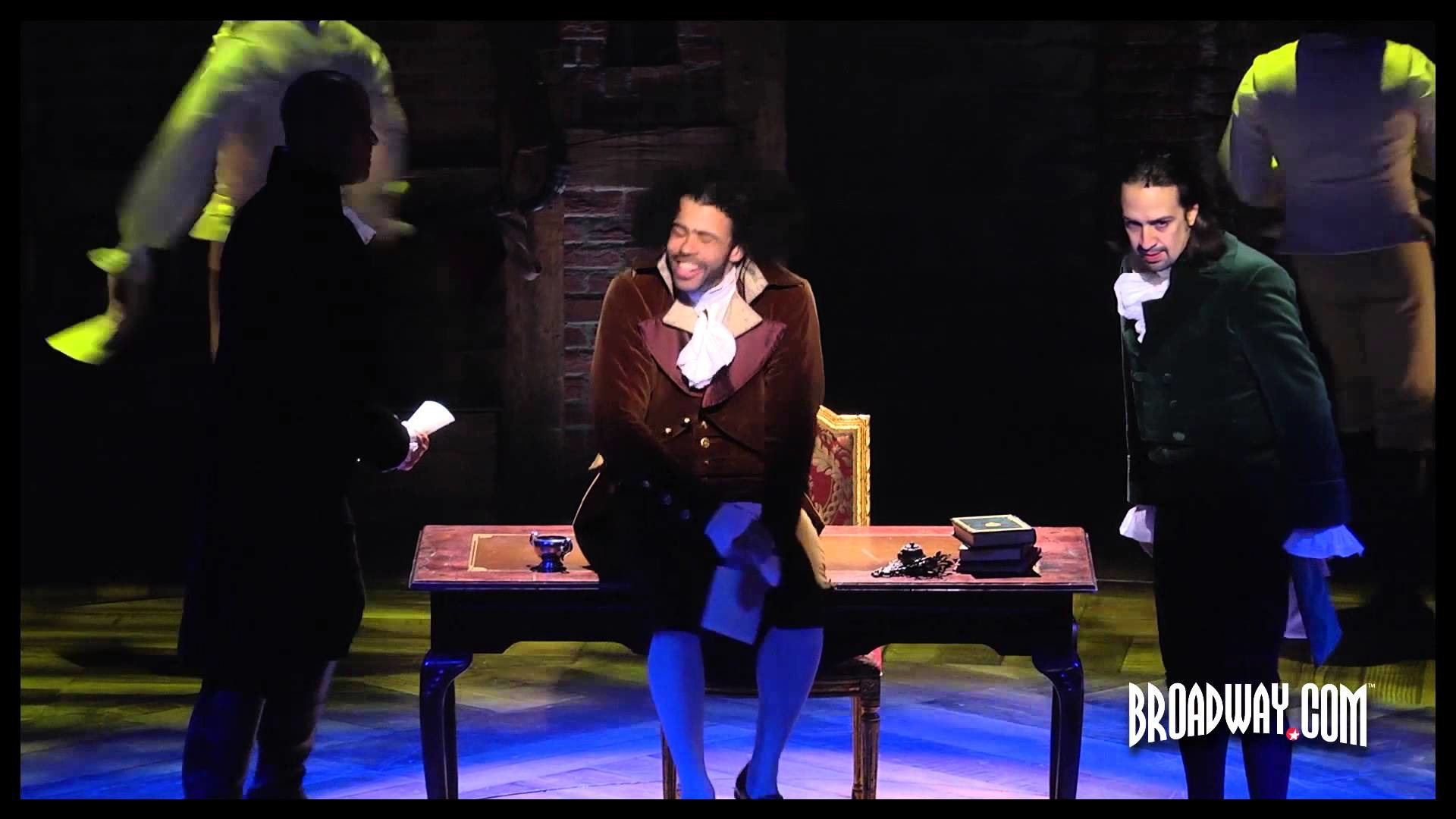 Res: 1920x1080, Video of HAMILTON, the new musical about Alexander Hamilton by Lin-Manuel  Miranda at Public Theater - YouTube