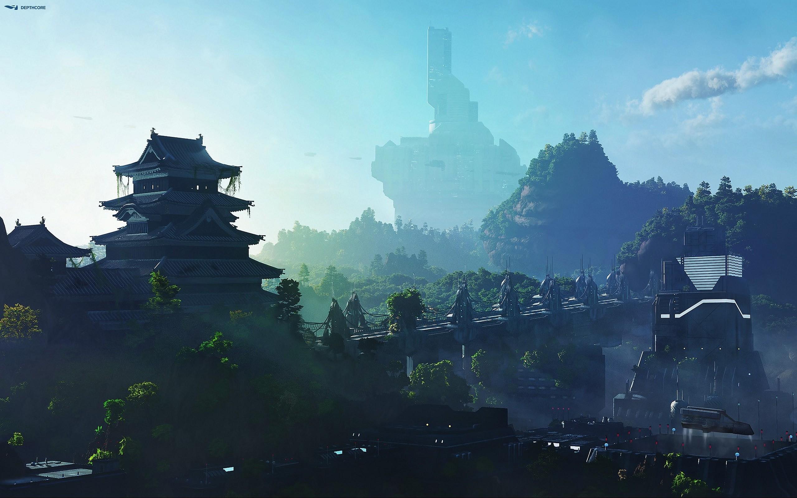 Res: 2560x1600, Fantasy - Landscape Wallpaper