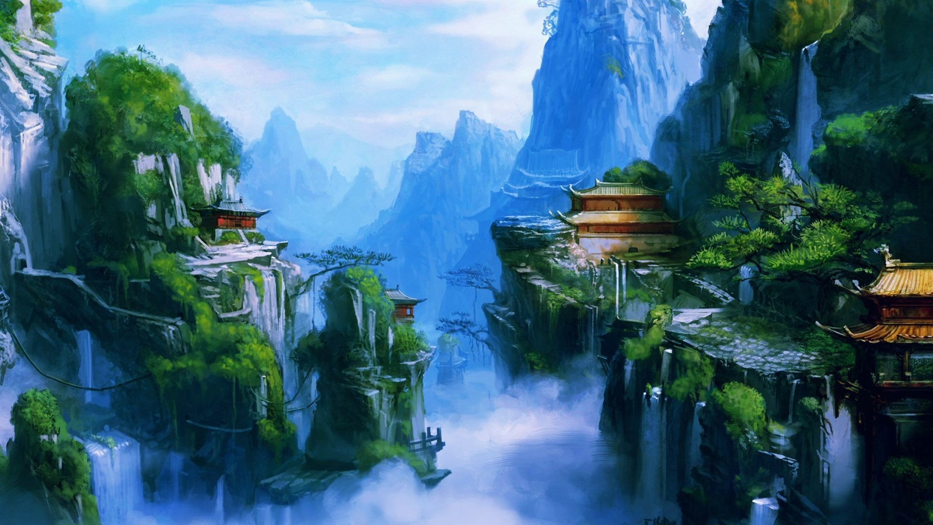 Res: 1920x1080, Beautiful Chinese Music - Imperial Dynasty. 3d Wallpaper3d Nature ...