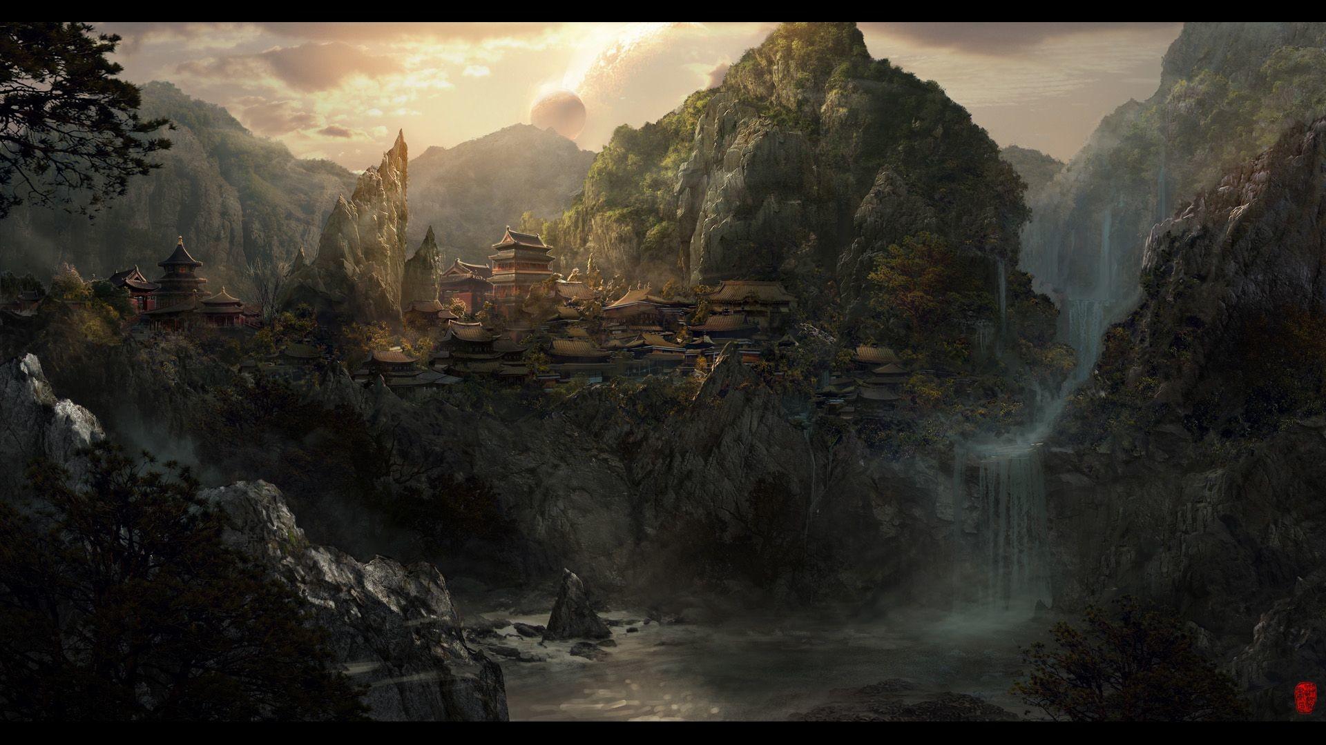 Res: 1920x1080, 25 Fantasy Wallpapers For Your Desktop - Hongkiat