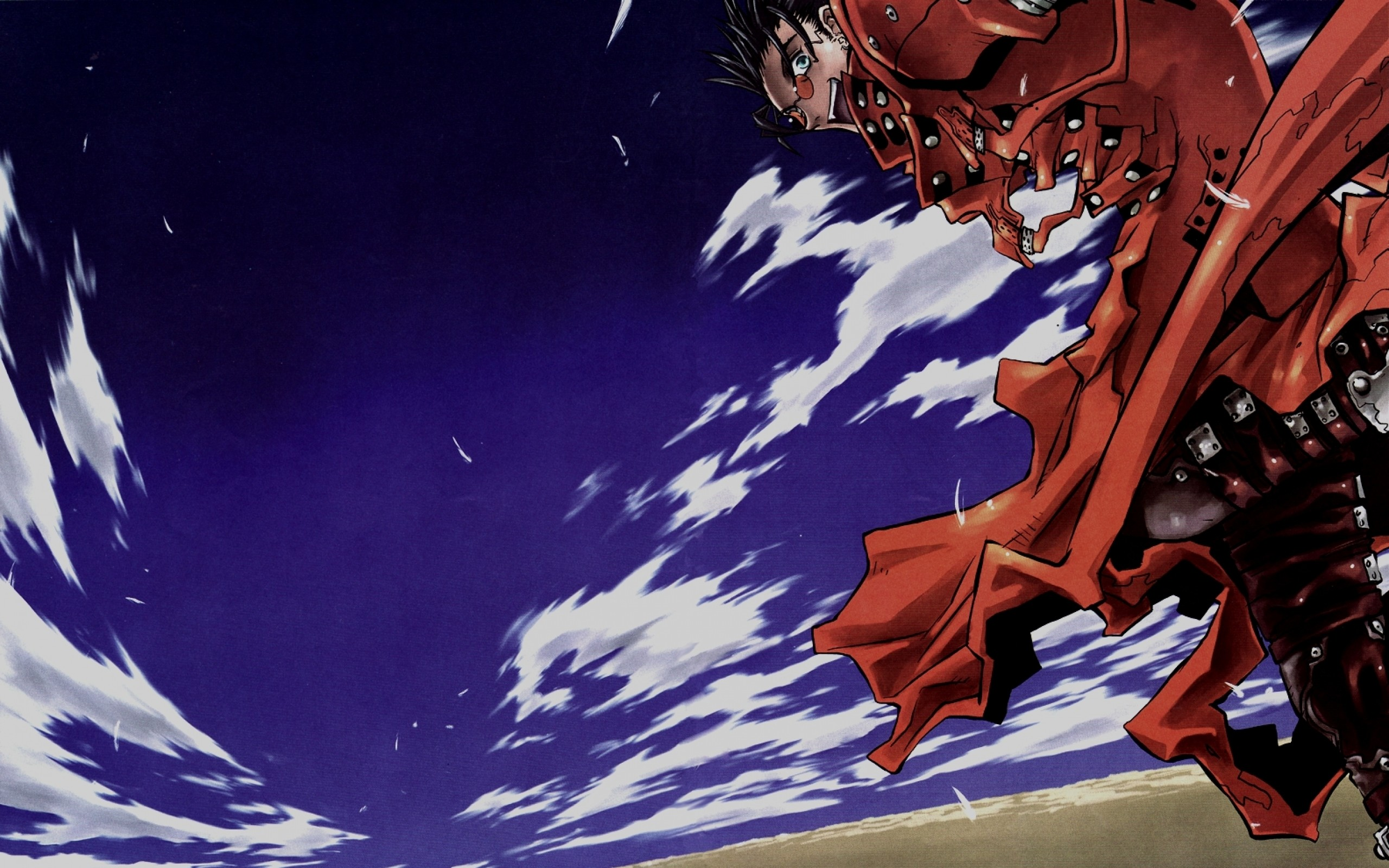 Res: 2560x1600, Download Wallpapers, Download  trigun vash the stampede .