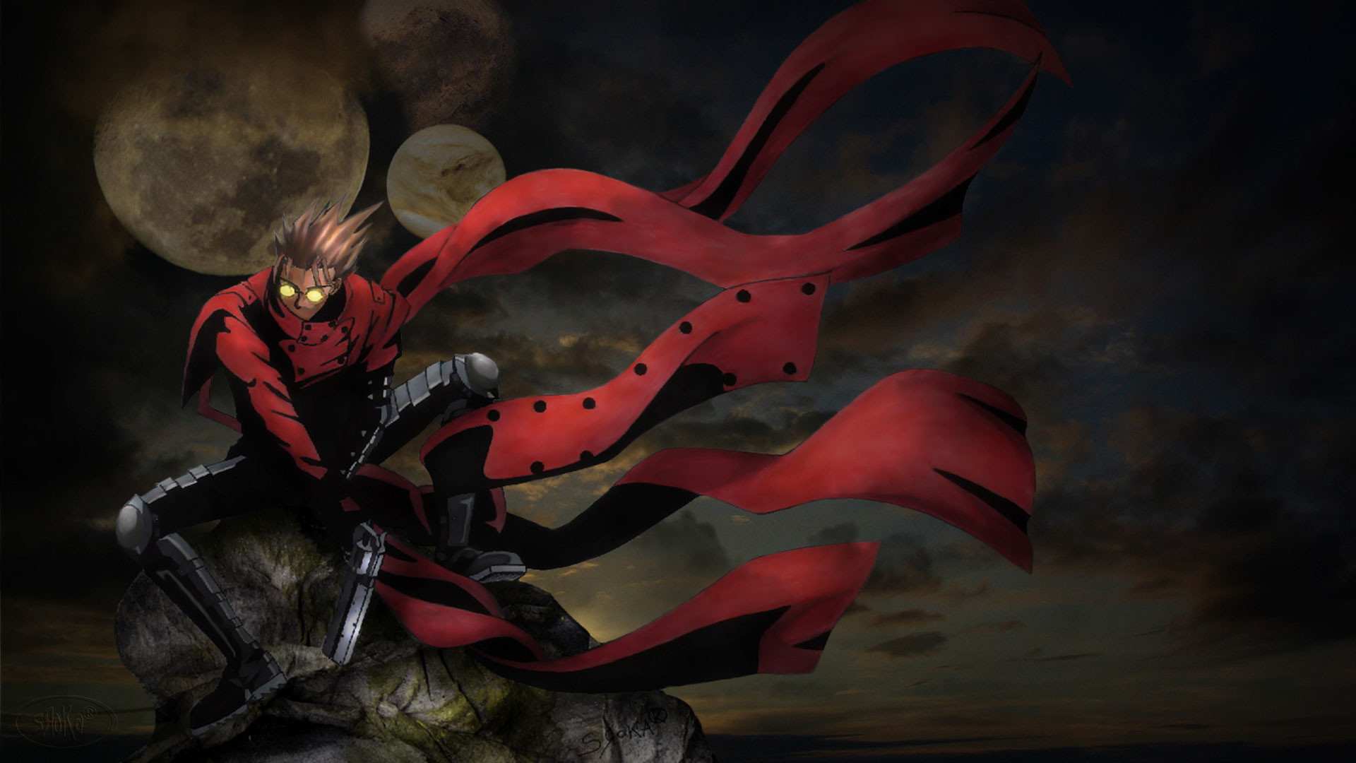 Res: 1920x1080, Trigun 1980x1080 by srokaML Trigun 1980x1080 by srokaML