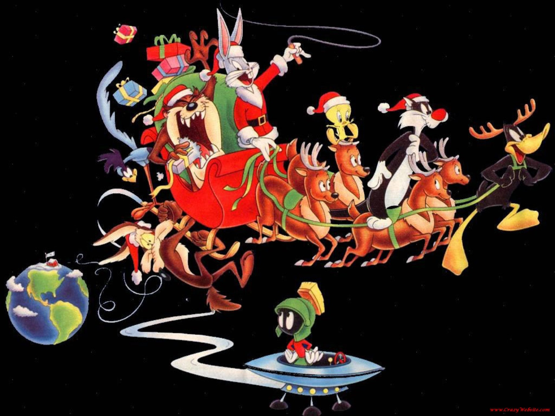 Res: 1920x1440, BUGS BUNNY looney tunes christmas xc wallpaper |  | 160660 |  WallpaperUP