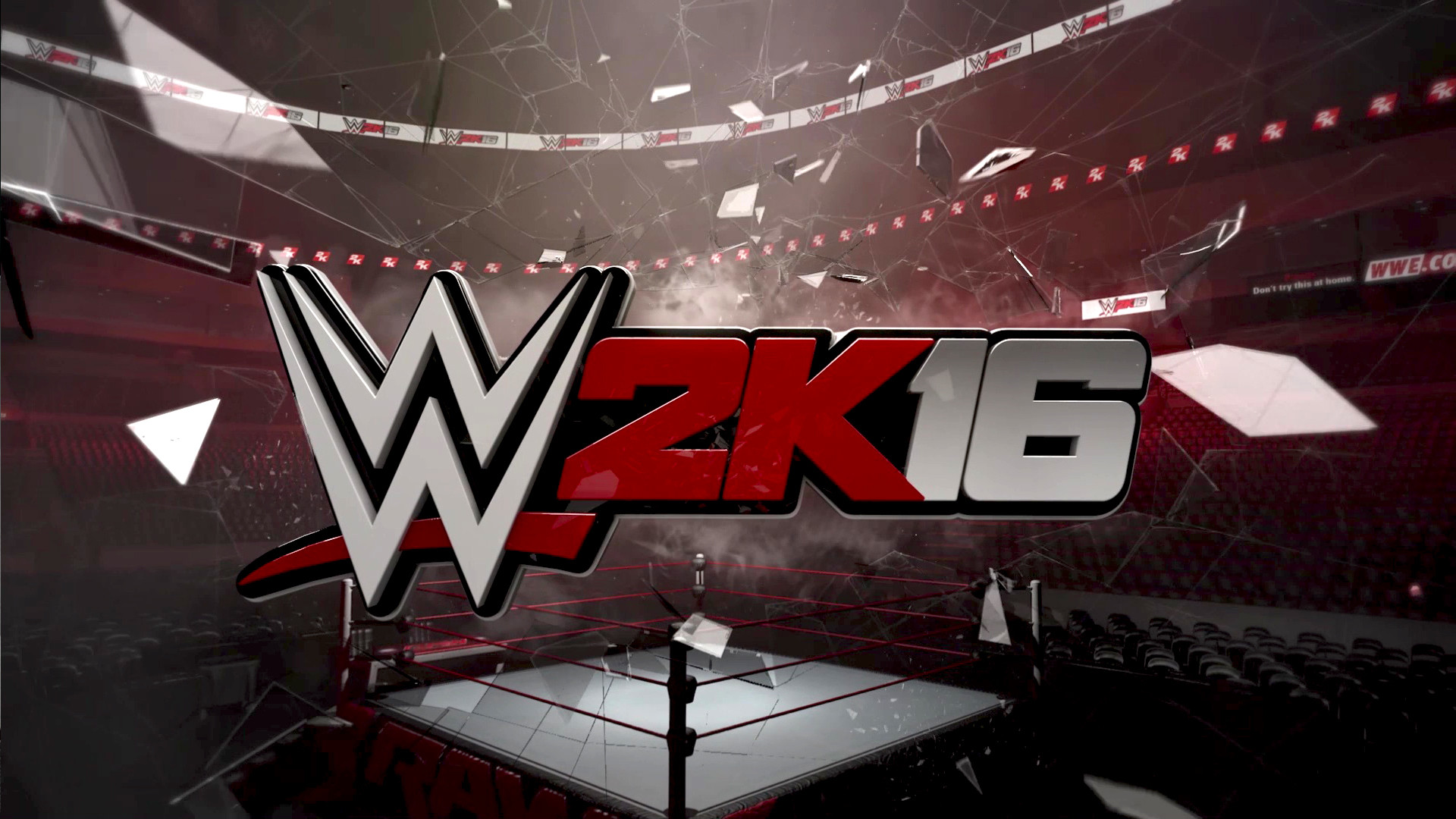 Res: 1920x1080, WWE2K16 Wallpaper Logo