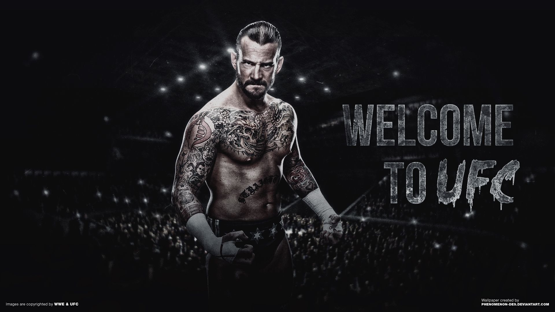 Res: 1920x1080, UFC CM Punk Wallpaper by Phenomenon-Des on DeviantArt