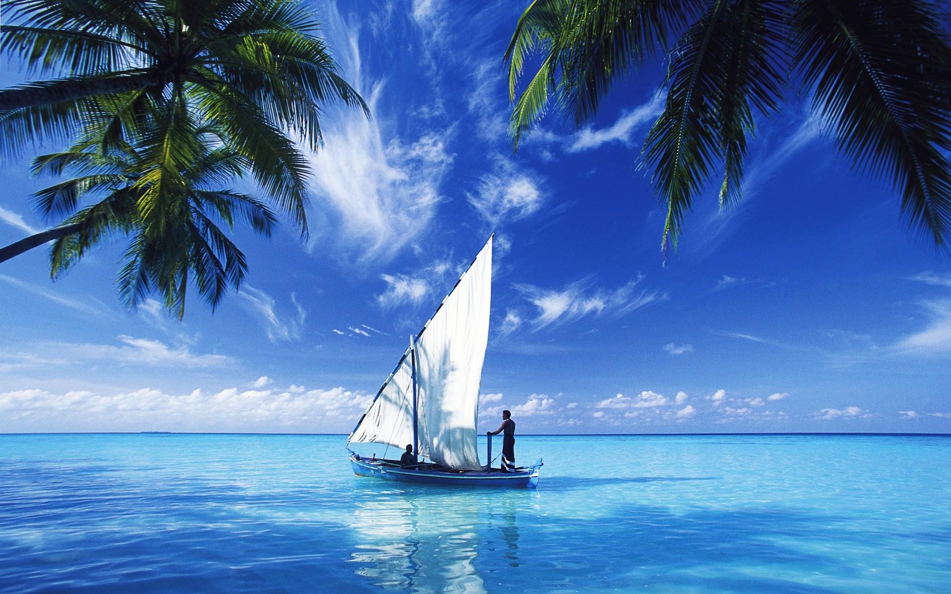 Res: 1920x1200, Sailing Over Indian Ocean Wallpaper