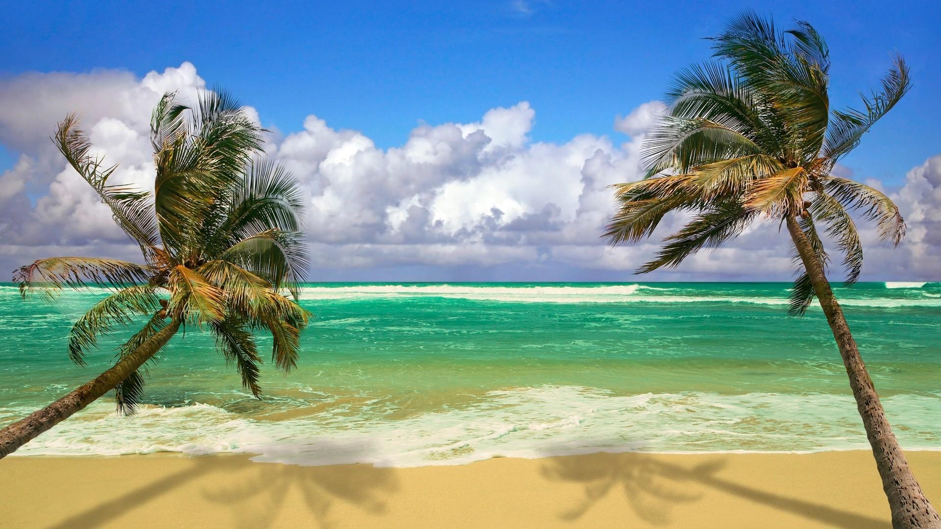 Res: 1920x1080, summer beach scene hd desktop wallpaper high definition. DOWNLOAD