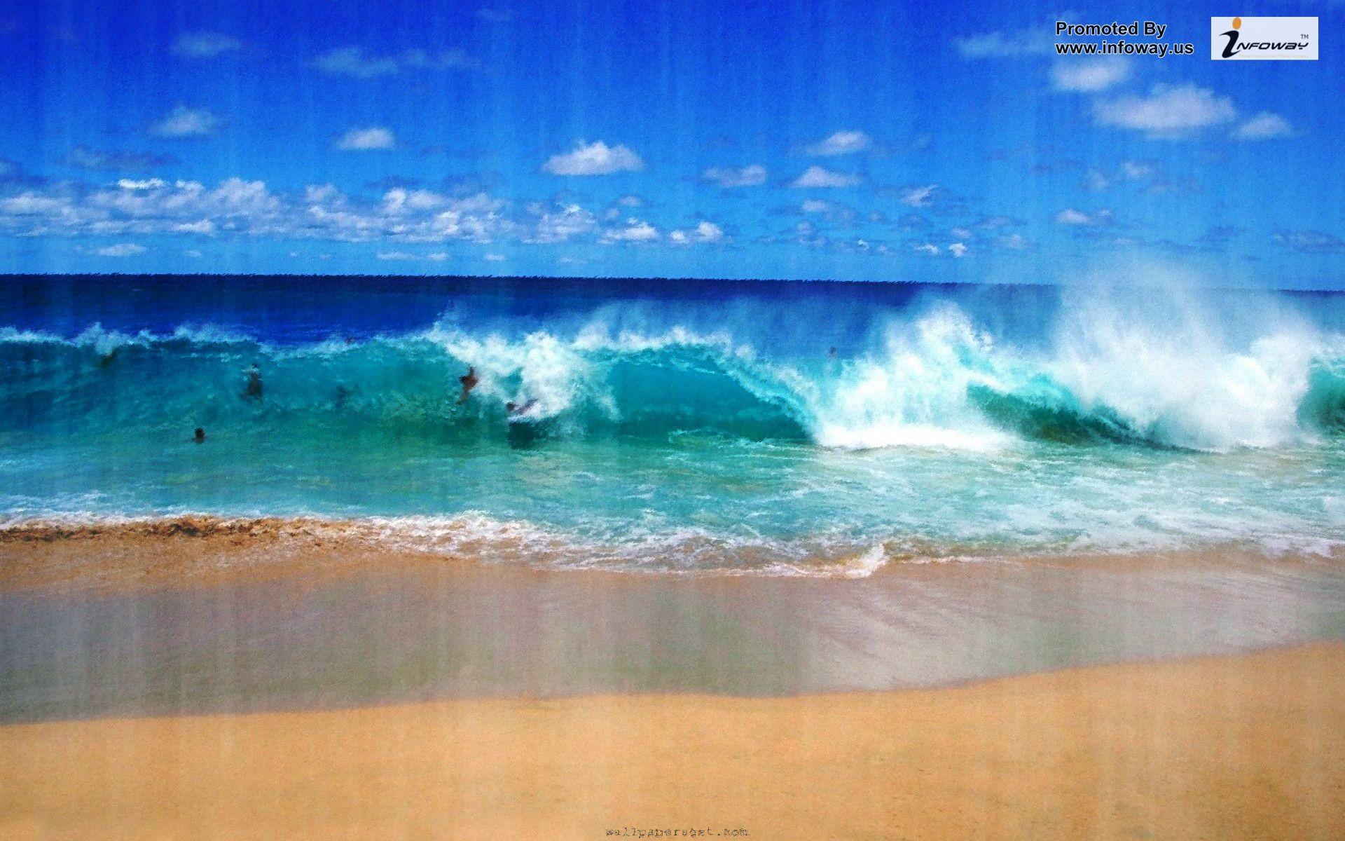 Res: 1920x1200, Beautiful Ocean Scenes Wallpaper