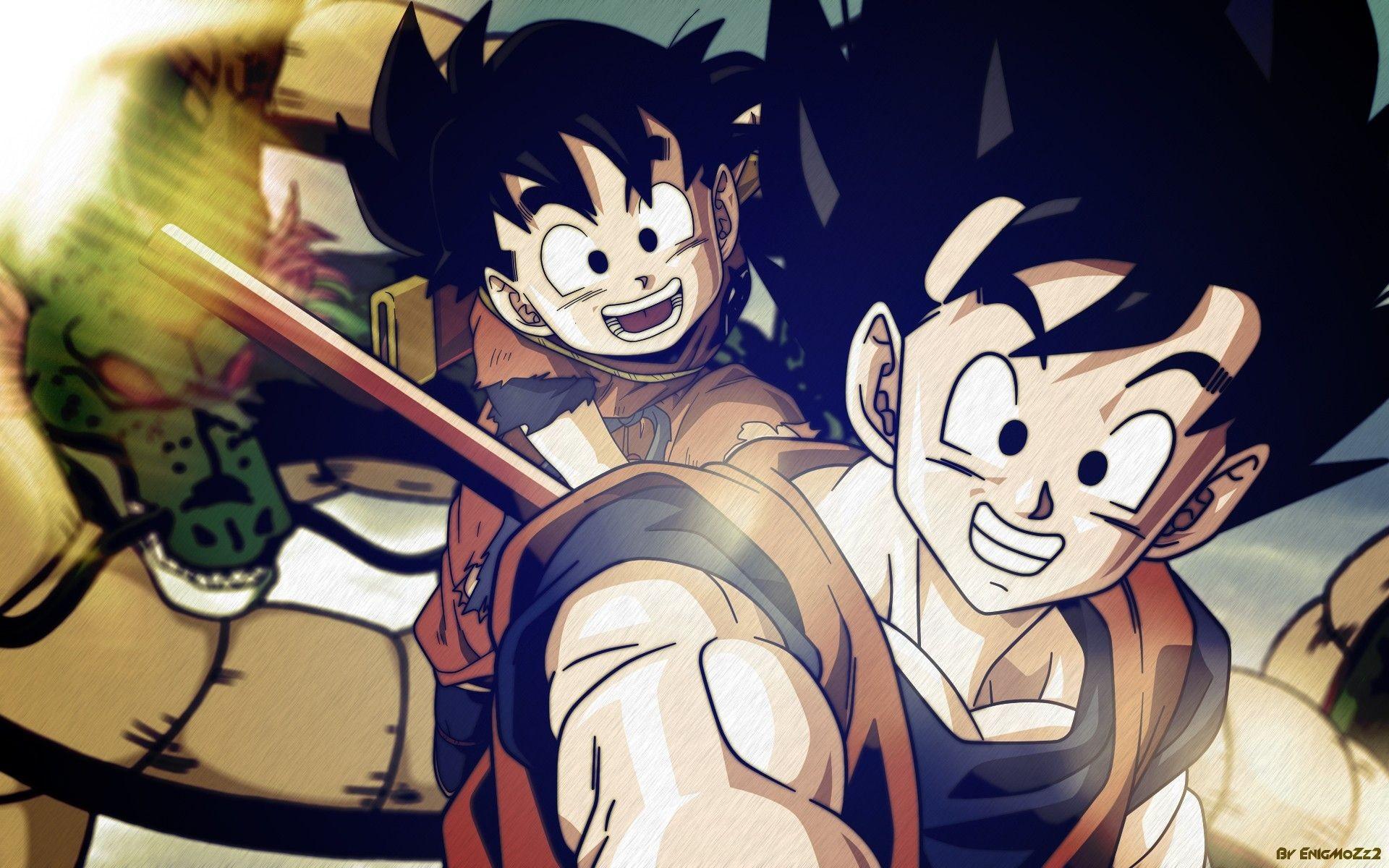 Res: 1920x1200, Dragon Ball Z Goku Gohan Wallpaper HD #4451 Wallpaper .