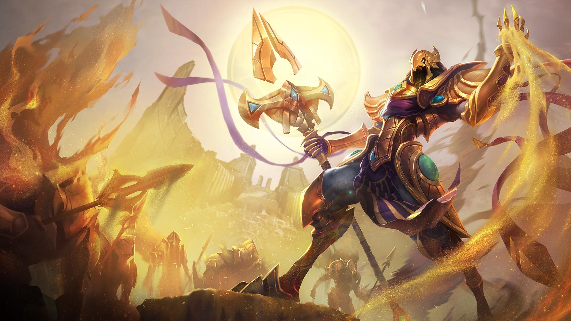 Res: 1920x1080, urusai-baka 256 16 League of Legends: Azir Wallpaper 1920 x 1080 by  xXNinjaGaaraXx
