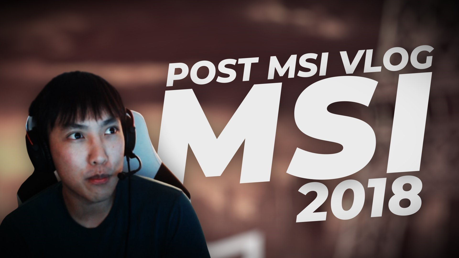 Res: 1920x1080, Doublelift Vlog: Remembrance of MSI tour