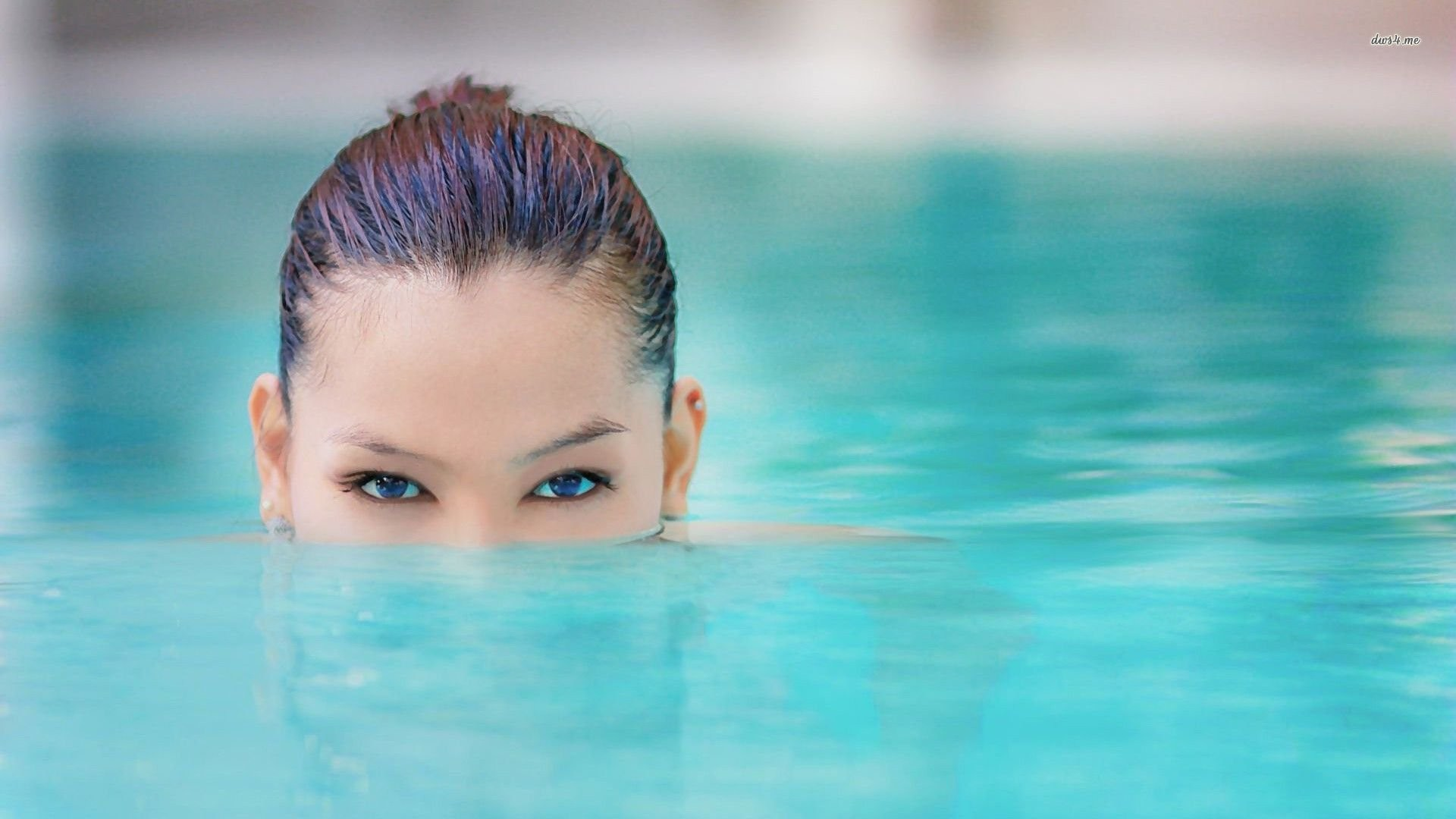 Res: 1920x1080, girl in the swimming pool