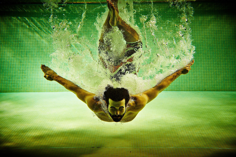 Res: 3000x2003, Water pool spray pool men man sport swim swimming underwater wallpaper       291395   WallpaperUP