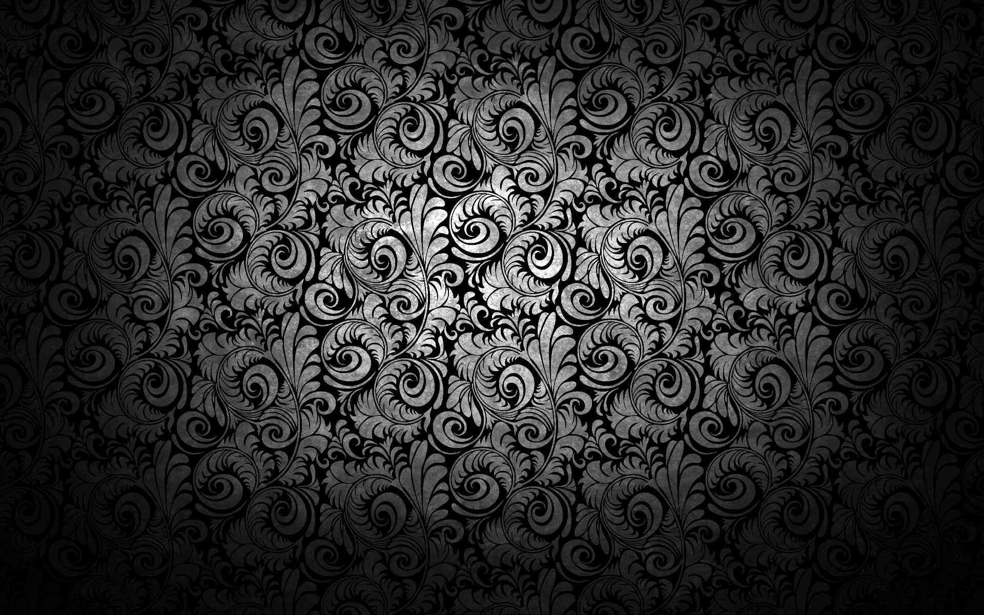 Res: 1920x1200, Black Abstract Pattern Wallpaper