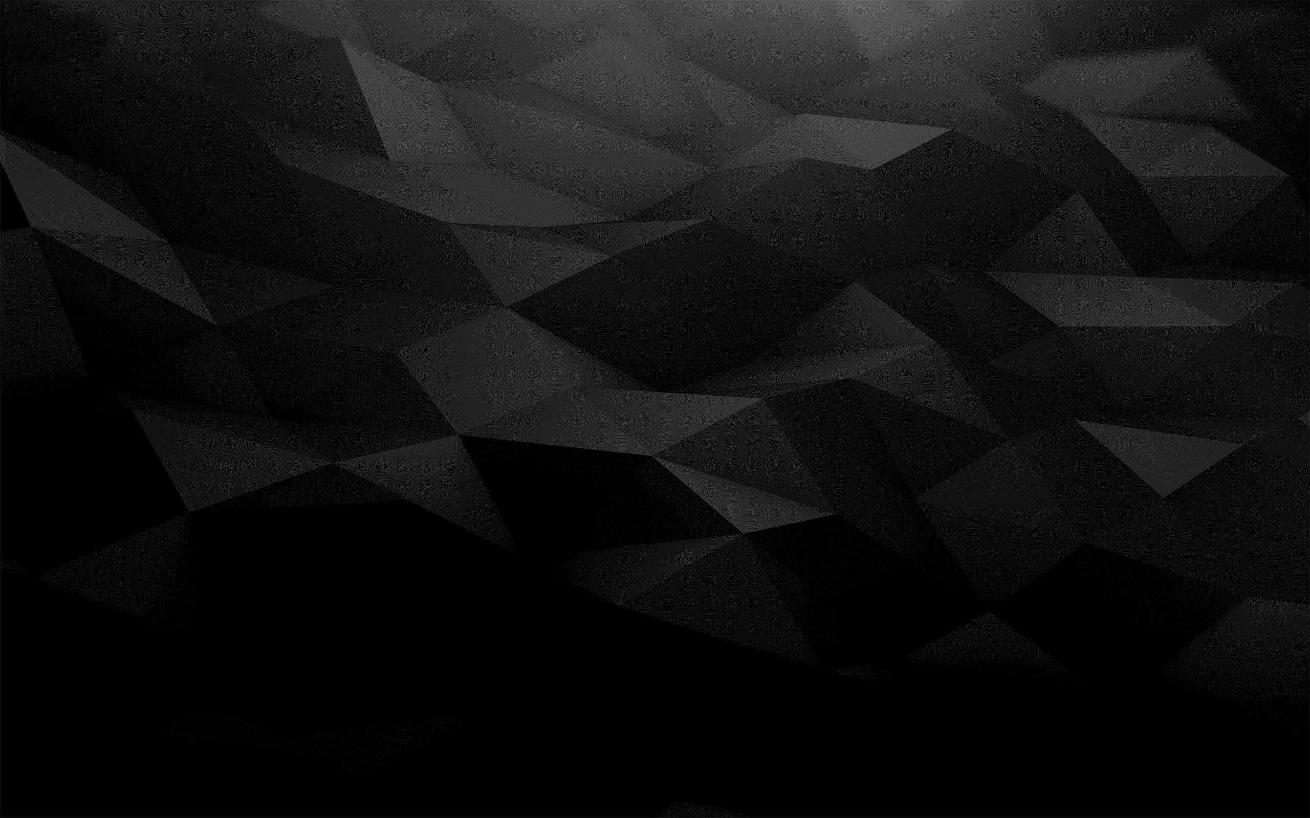 Res: 2560x1600, ... 3d Black Abstract Wallpaper Backgrounds Bilder 281039 ...