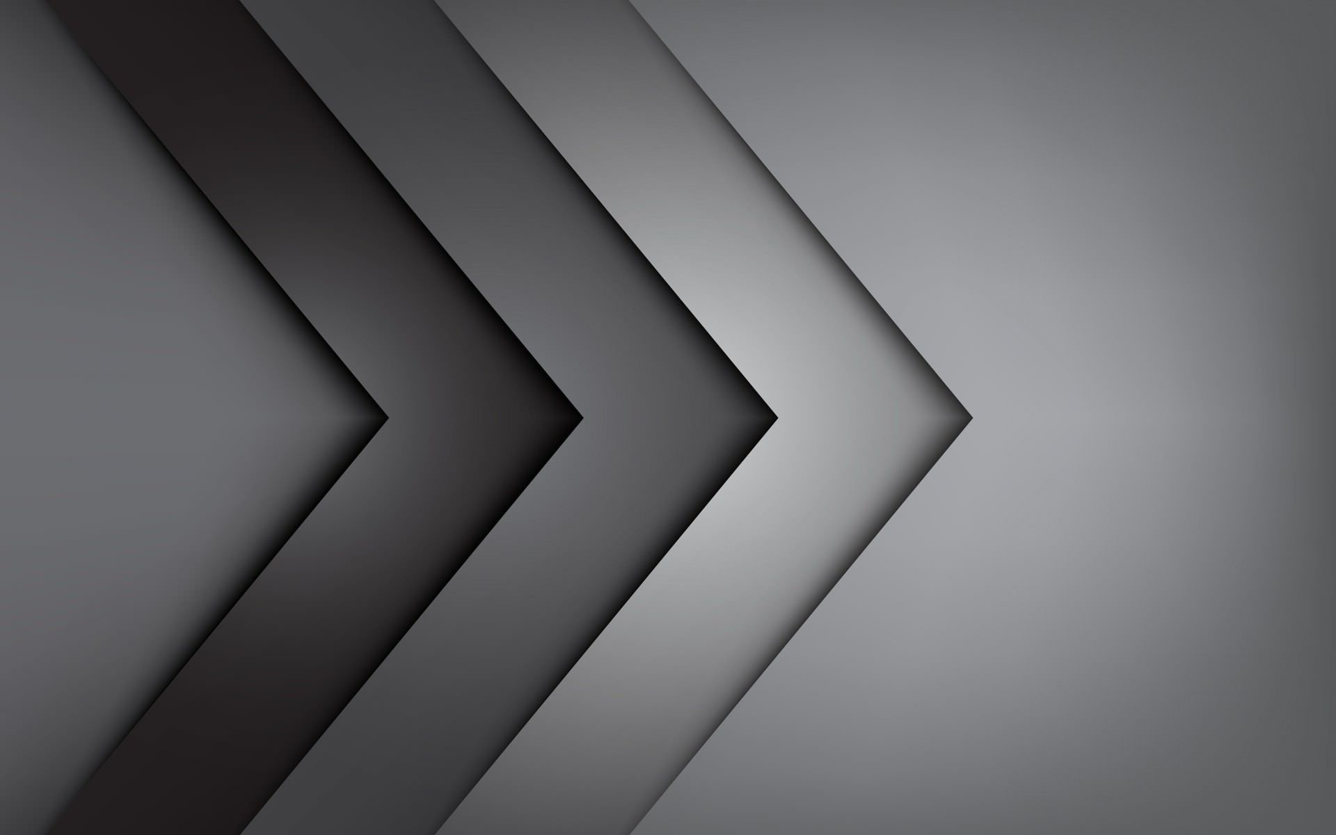 Res: 1920x1200, silver-and-black-triangle-abstract-wallpapers