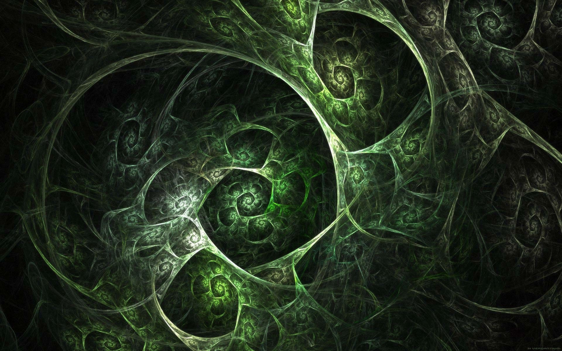 Res: 1920x1200, File: green-and-black-abstract-wallpaper-153.jpg by