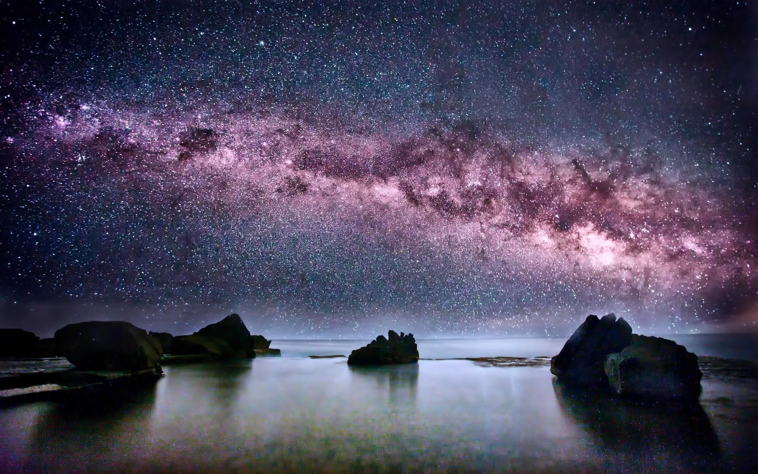 Res: 2560x1600, Amazing Milky Way