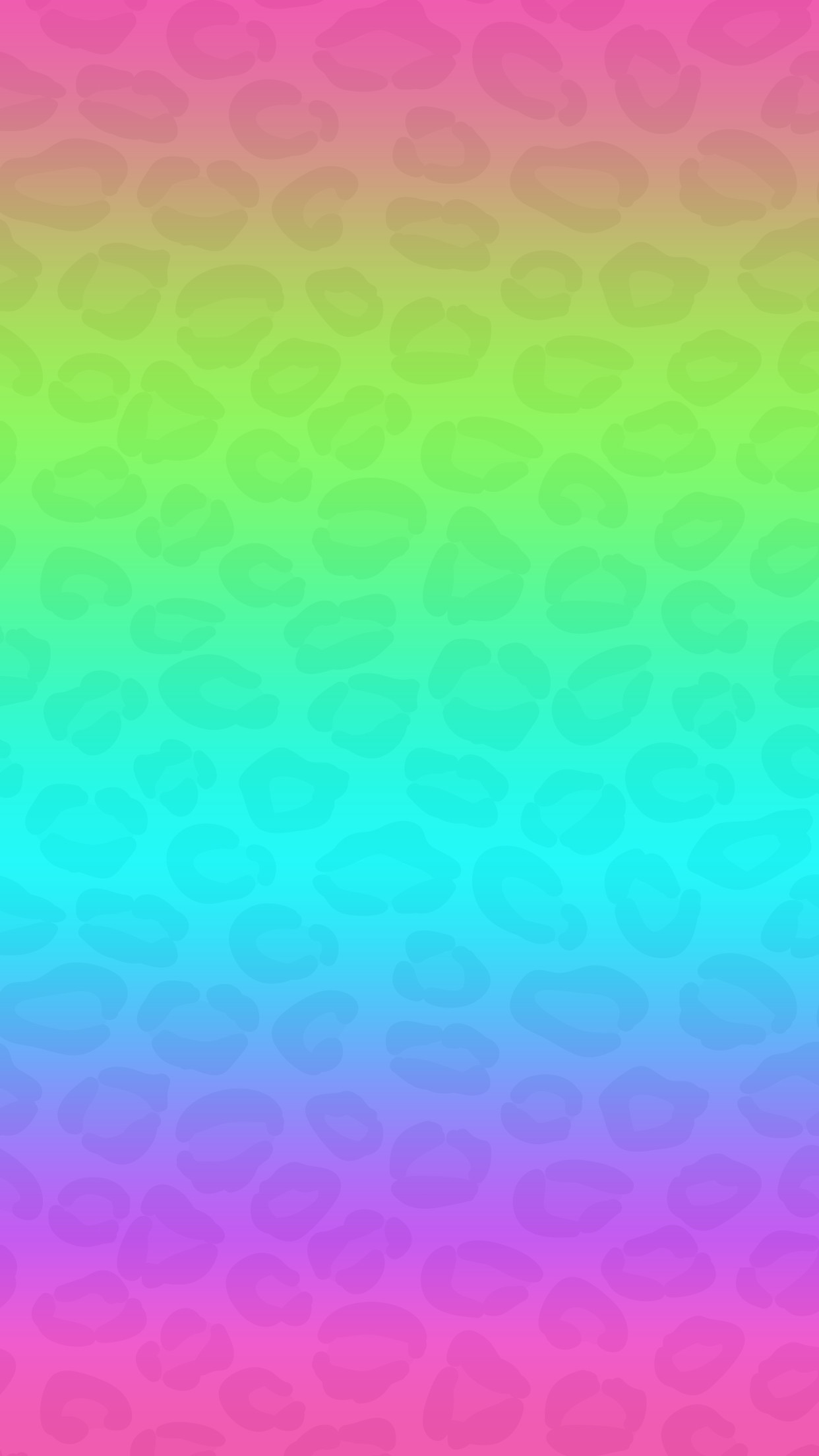Res: 1242x2208, Gradient, ombre, pink, blue, purple, green, wallpaper, hd,
