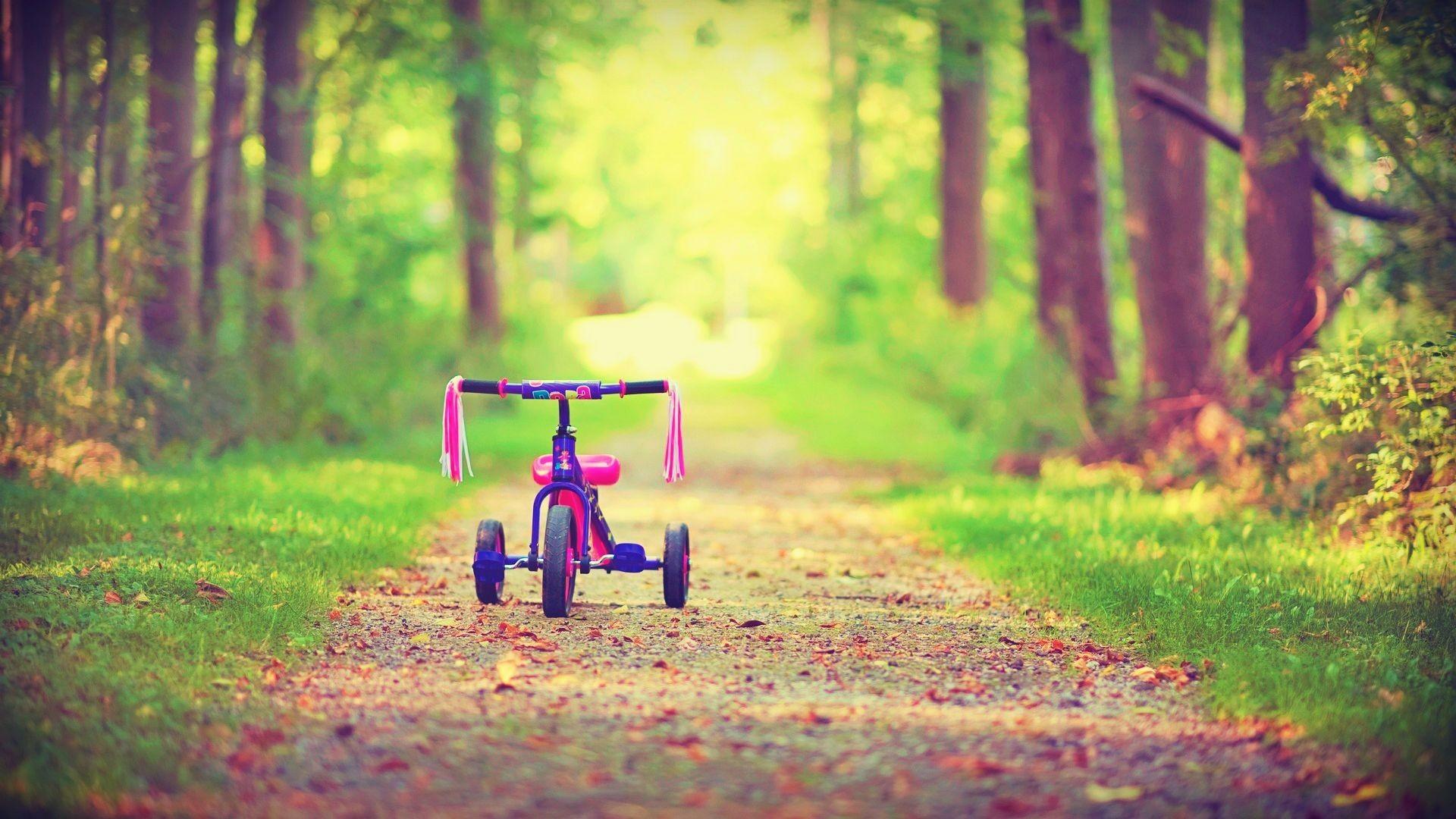 Res: 1920x1080, Kids Bicycle Wallpaper