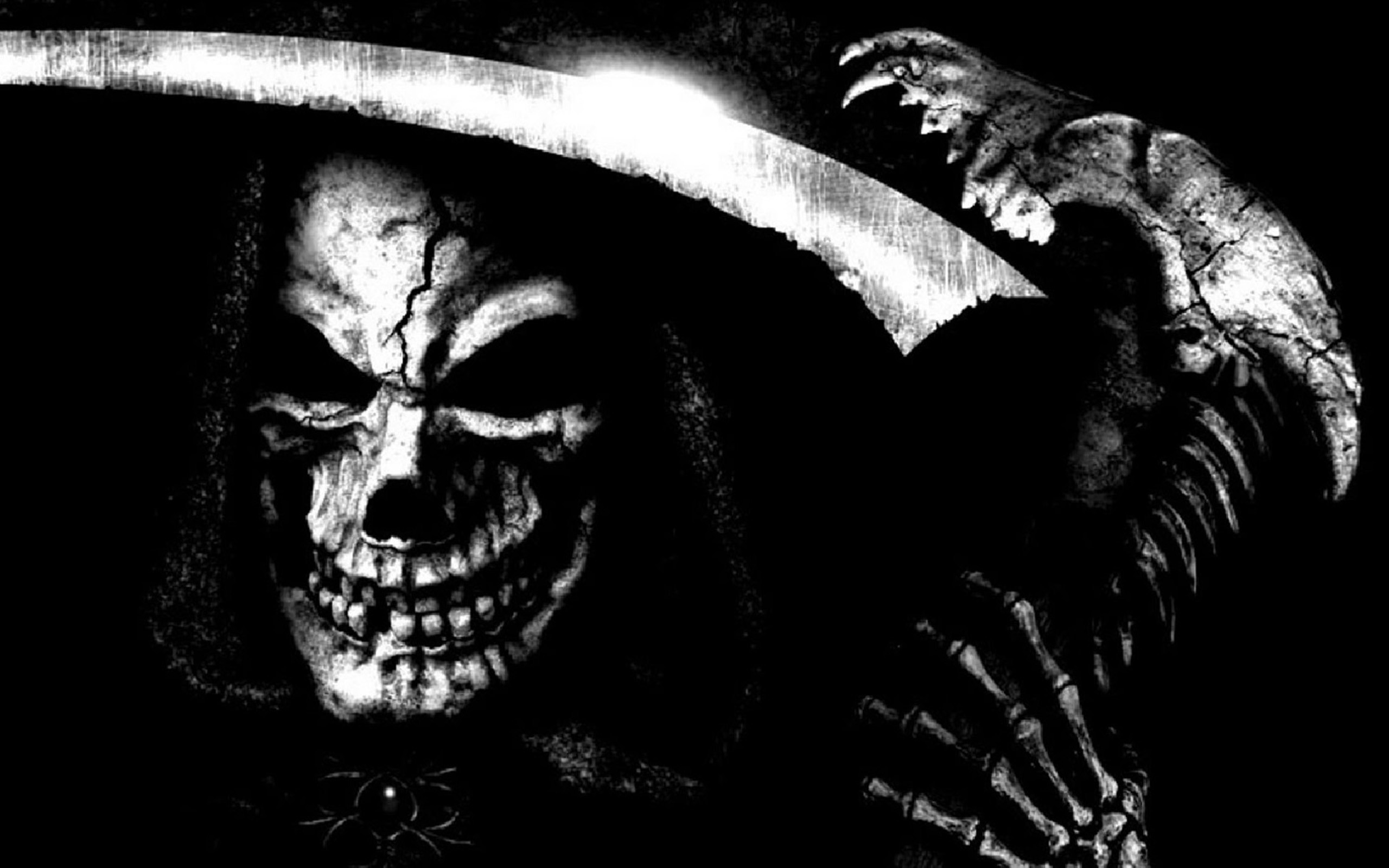 Res: 2560x1600, Scary Wallpaper Scary Wallpaper ...
