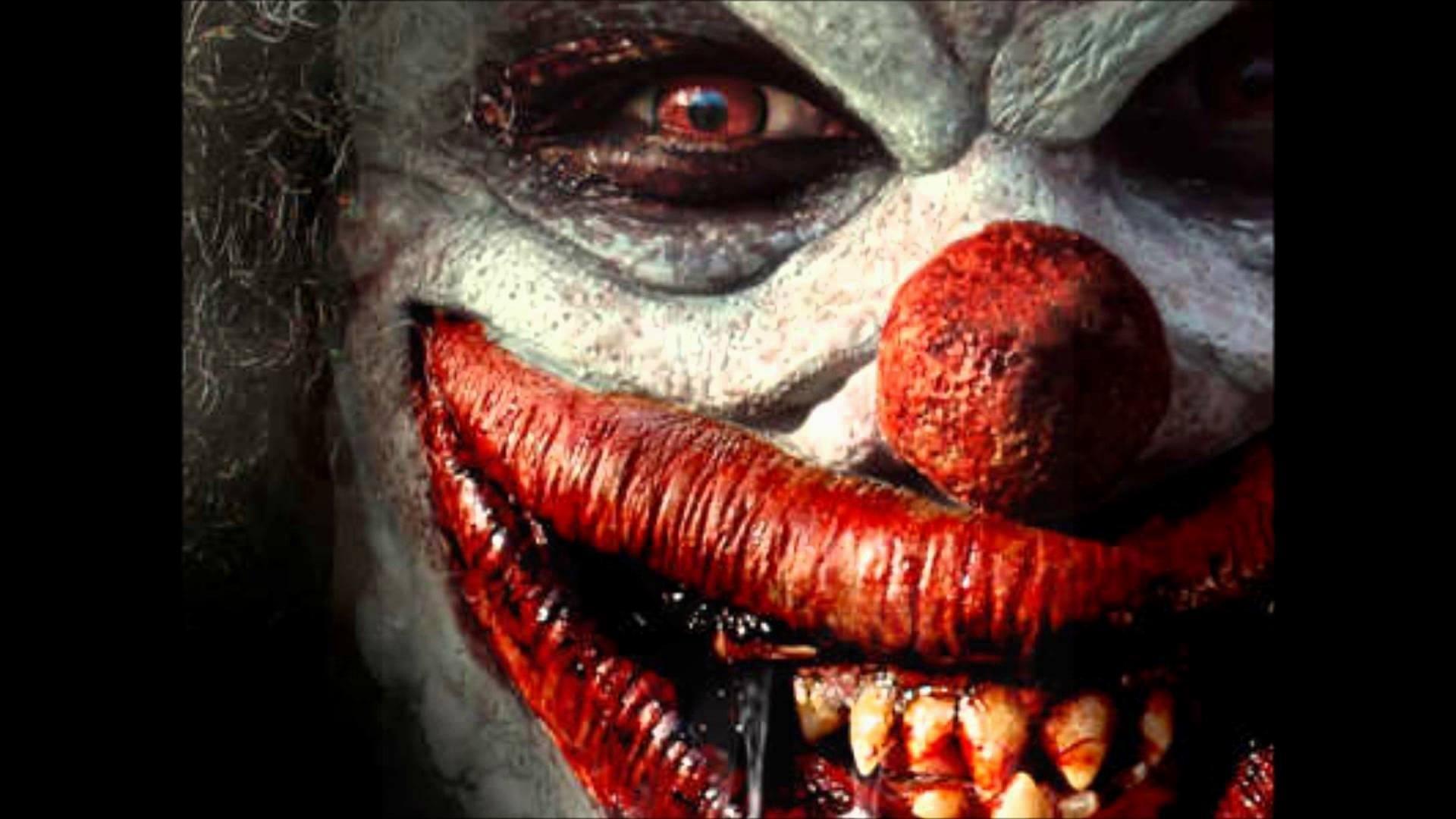 Res: 1920x1080,  2. scary-clown-wallpaper-HD2-600x338
