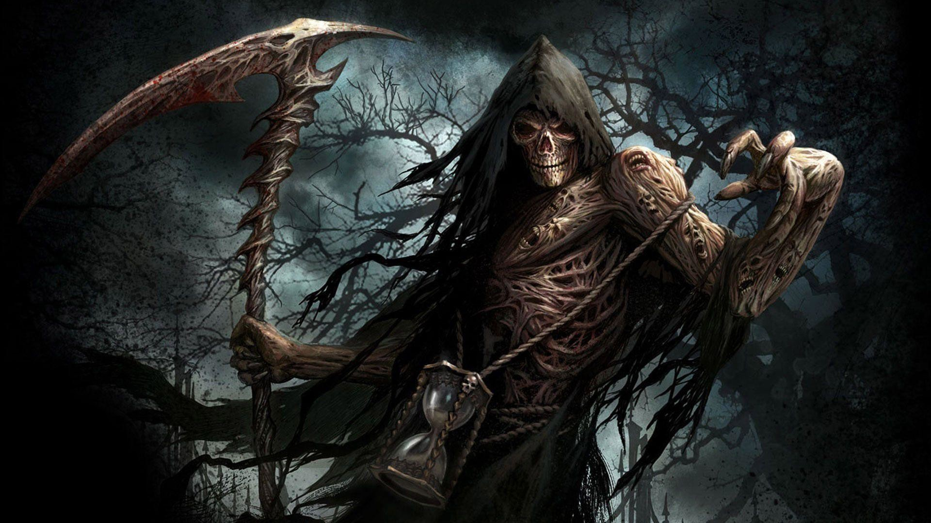 Res: 1920x1080, Scary Grim Reaper