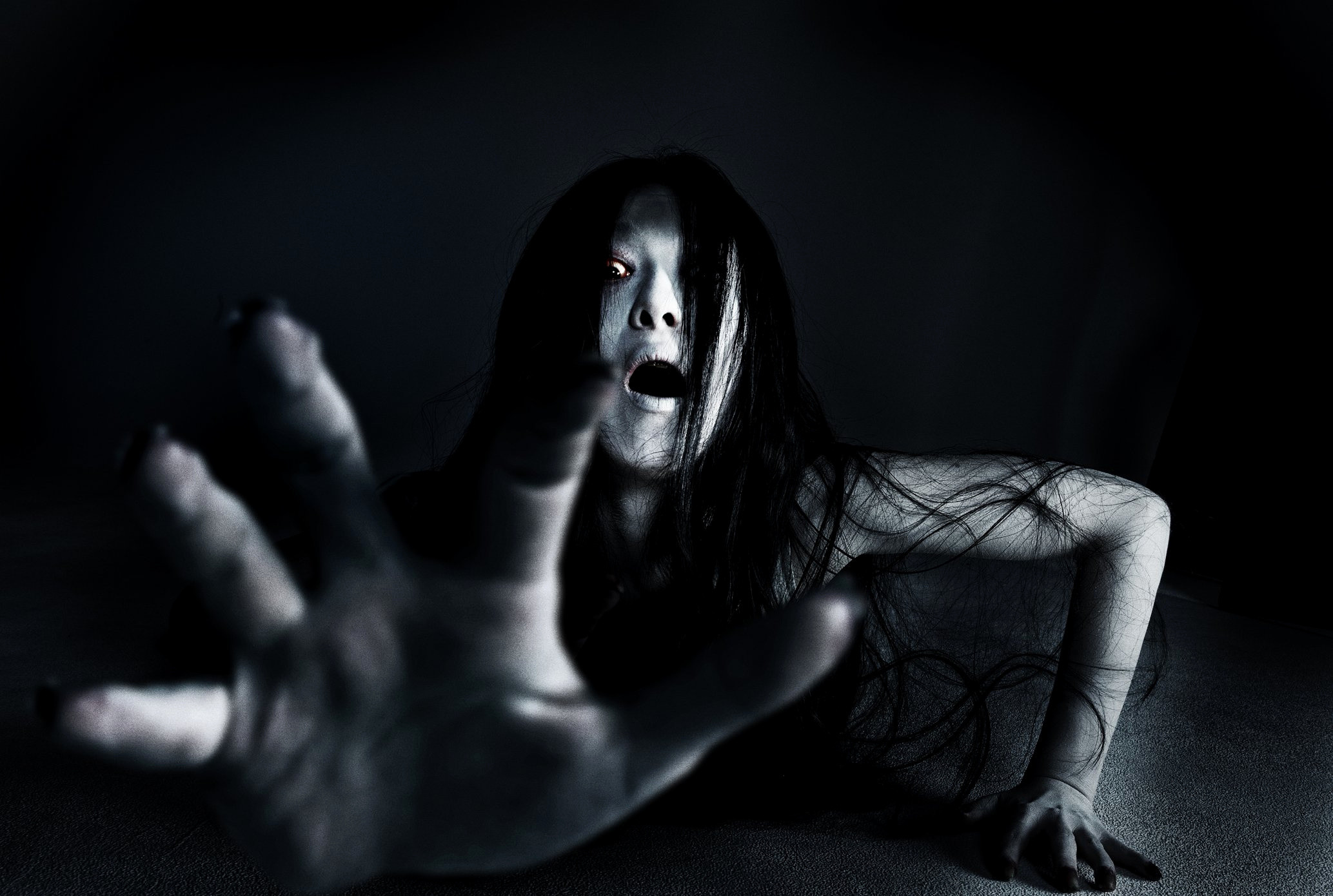 Res: 2067x1390, Scary Wallpapers Lovely Grudge Horror Mystery Thriller Dark Evil Demon  Ghost Ju On