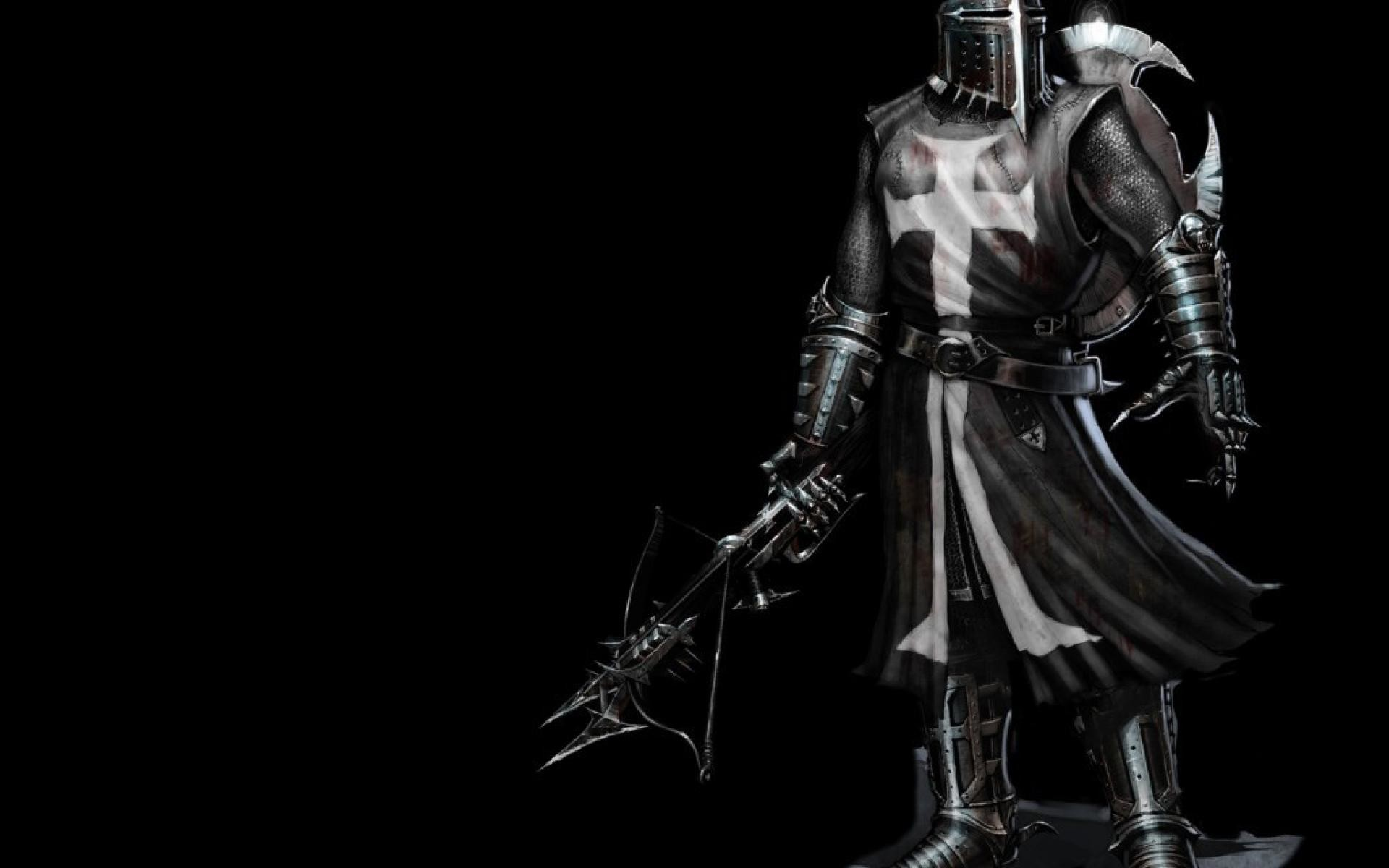 Res: 1920x1200, knights crusader warriors templar HD Wallpaper General 431805