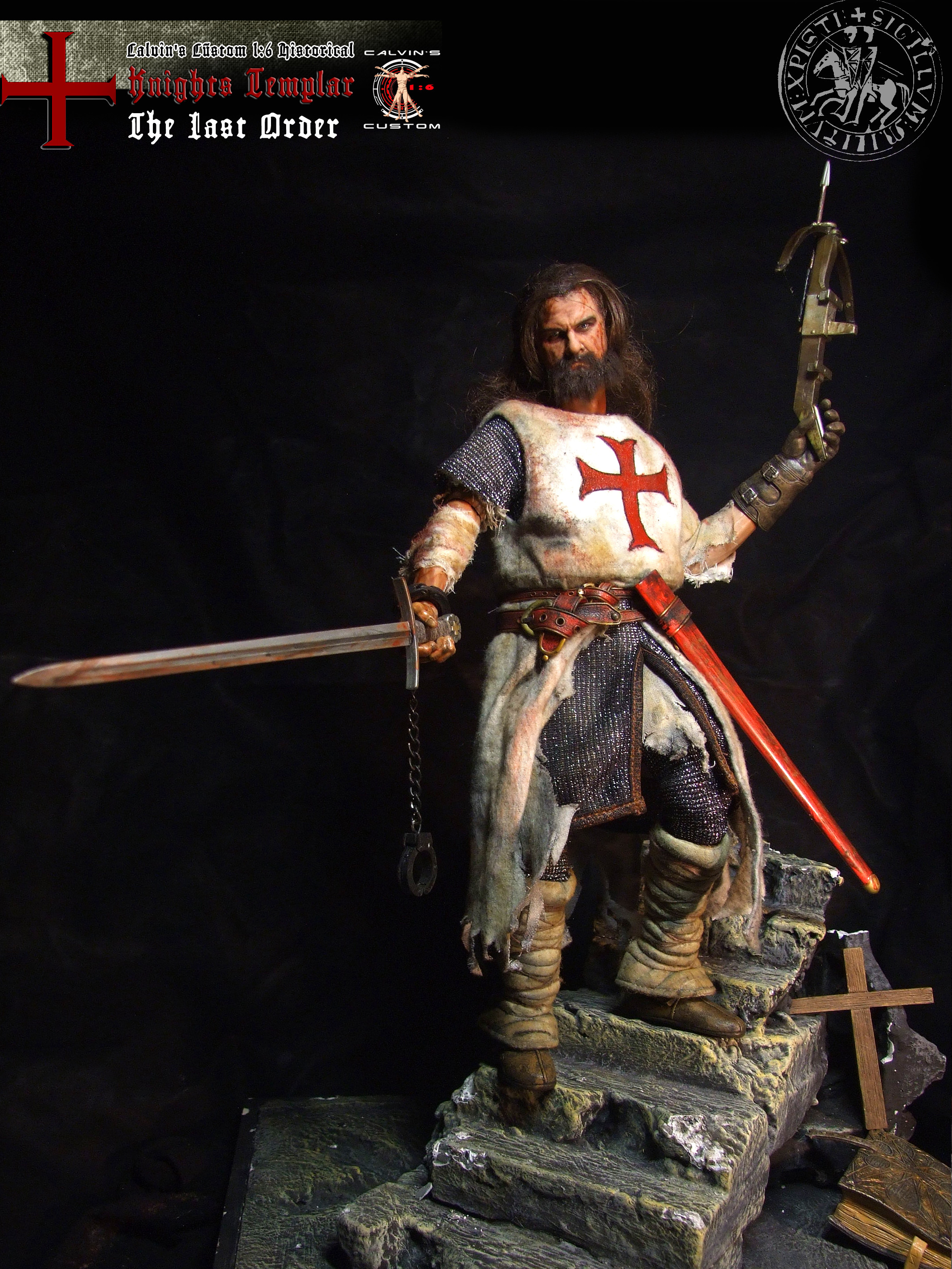 "Res: 2136x2848, Assassin's creed: Assassin or Templar images Calvin's Custom 1:6 one sixth  scale Historical Figure: ""Knights Templar The Last Order"" custom figur HD  ..."