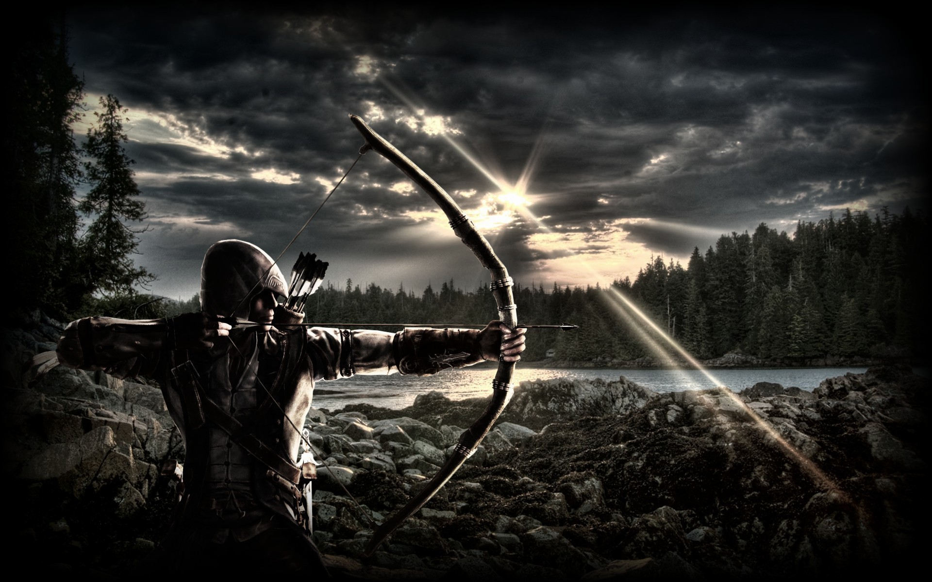 Res: 1920x1200,  archery free hd wallpapers for desktop